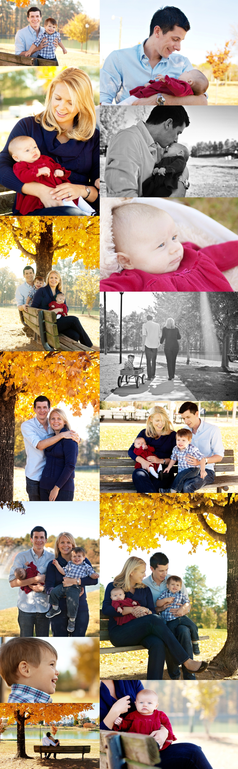 Pineville Lake Park Family Portraits