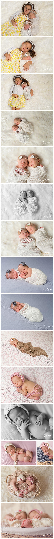 twin newborn photography