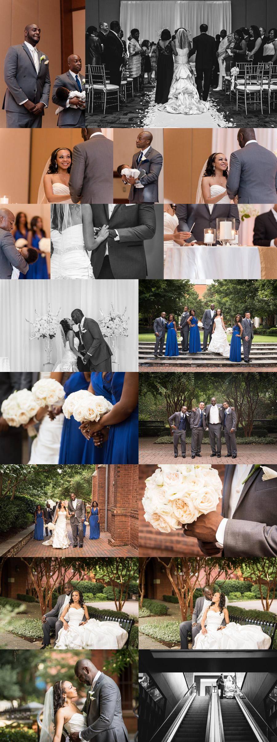 creative charlotte wedding photographer