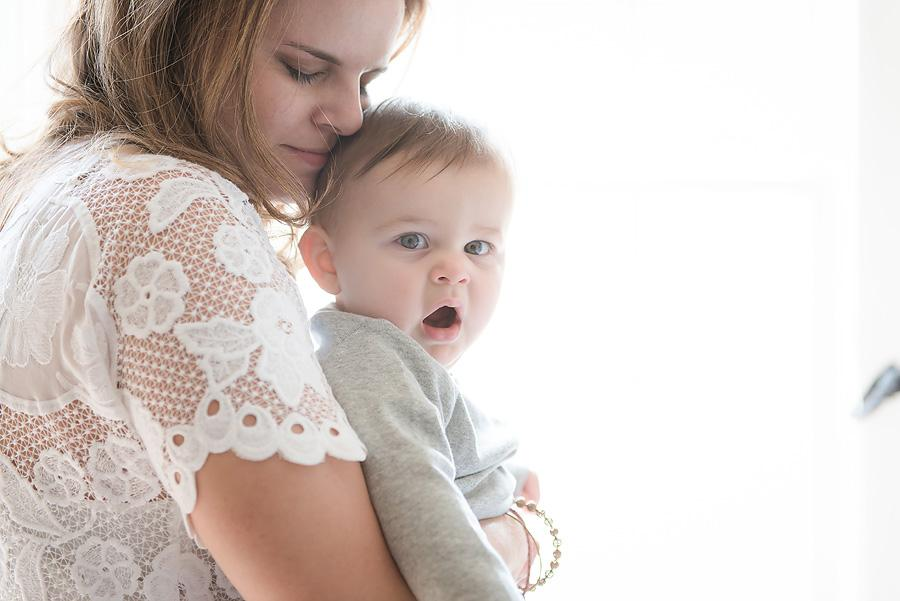 lifestyle mommy and me session