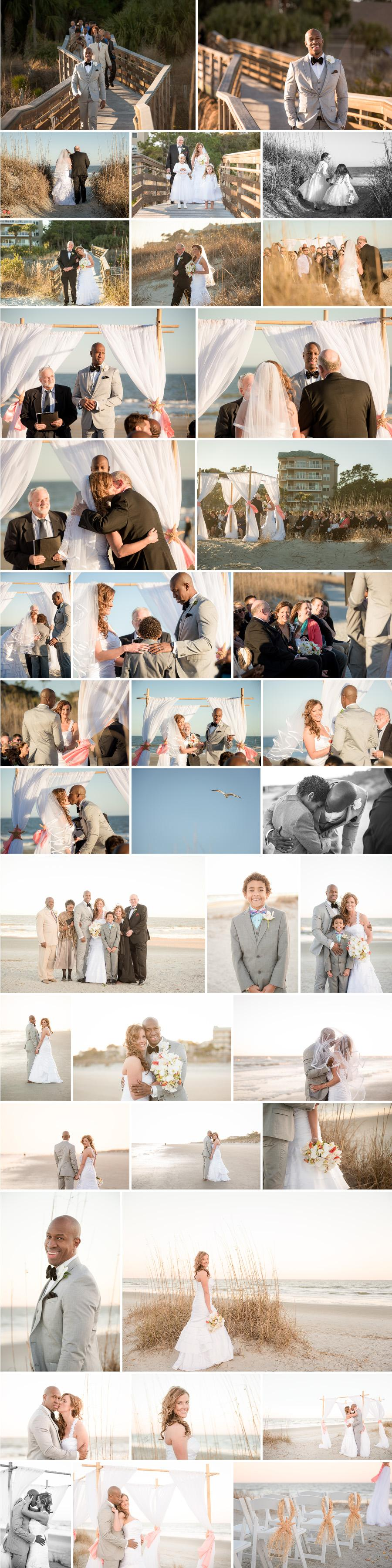 hilton head beachfront destination wedding