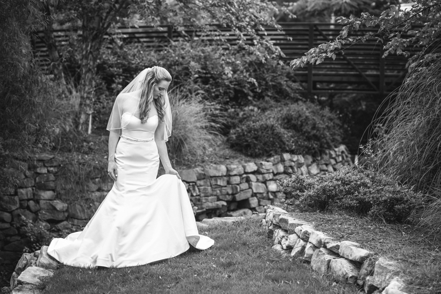 rock hill bridal photos