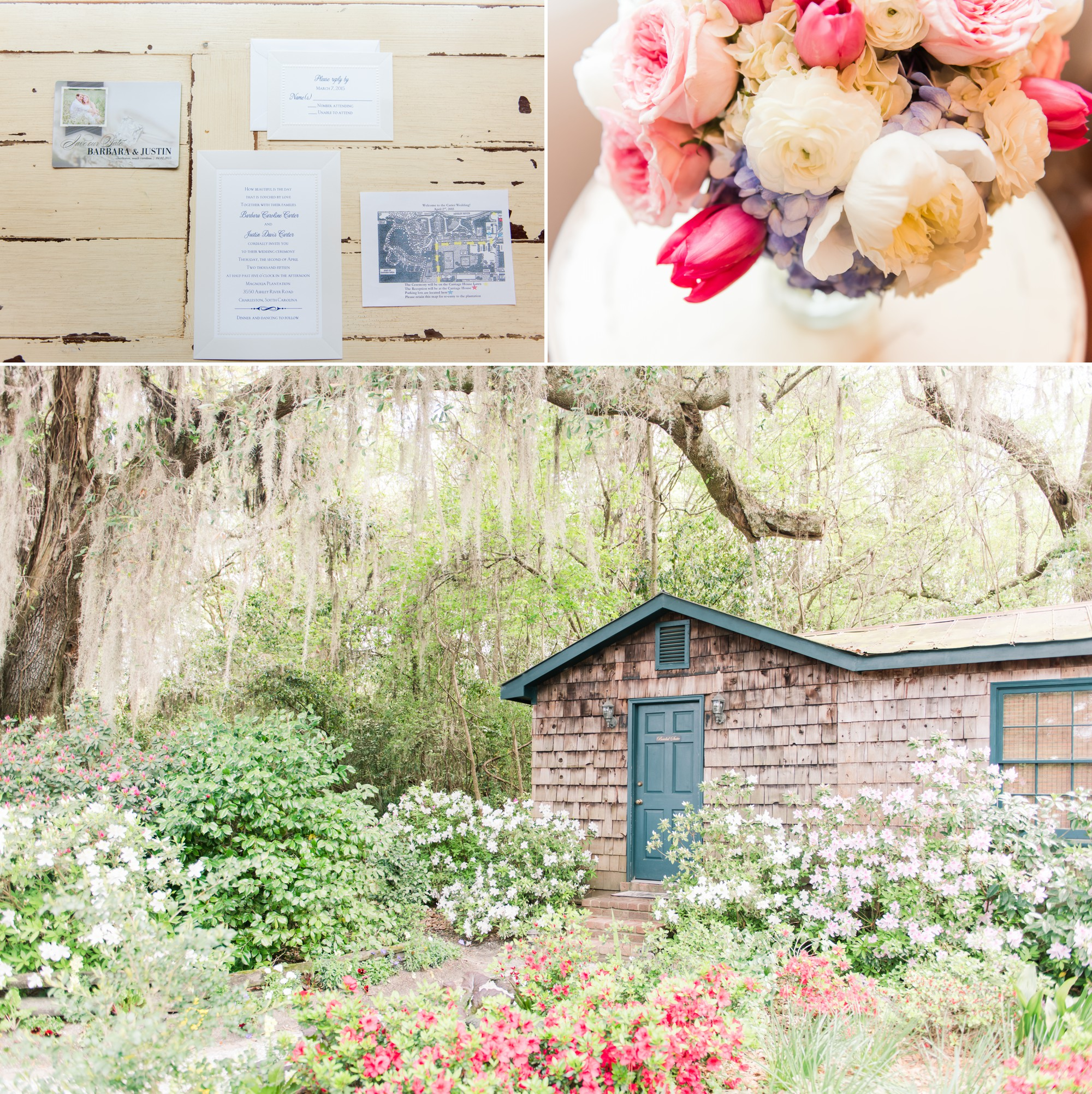 Magnolia Plantation Wedding Pictures