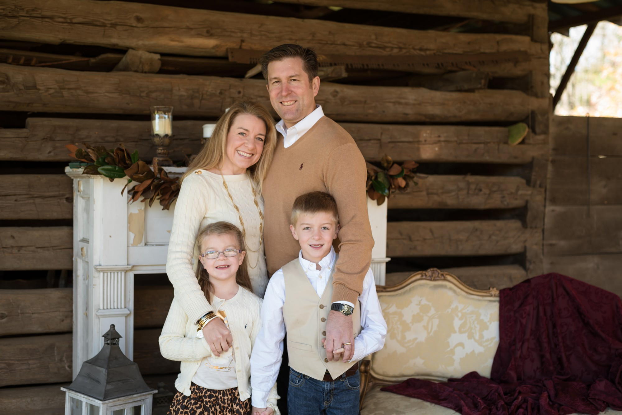 charlotte tree farm family sessions