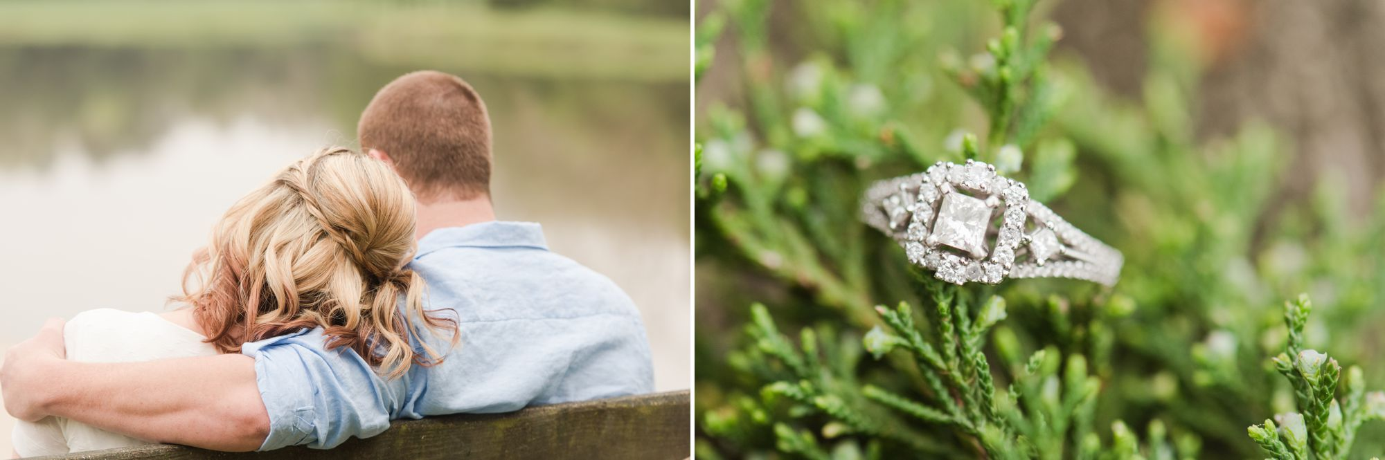 charlotte farm engagement session