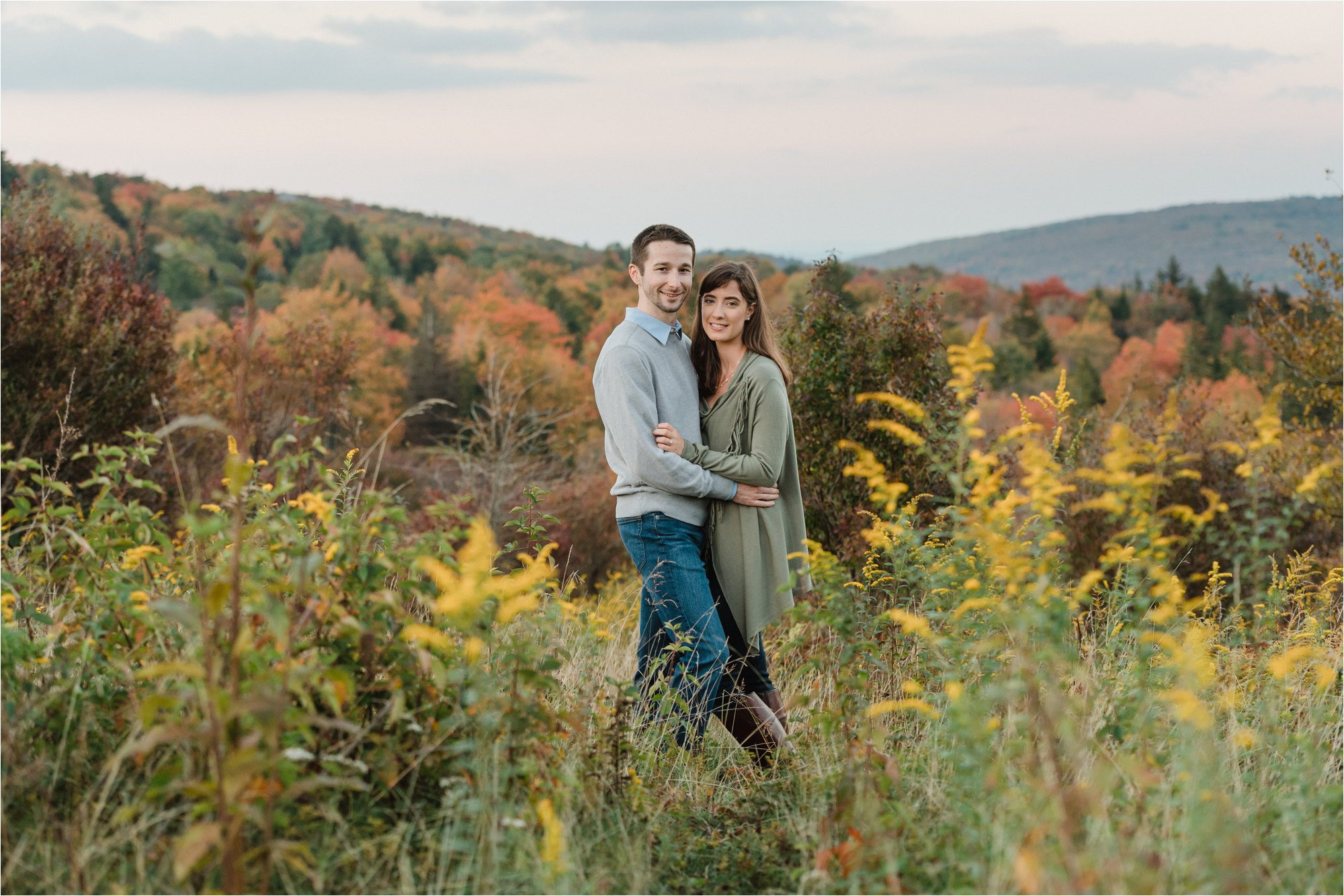 Engagement Session at Virginia Blue Ridge Mountains