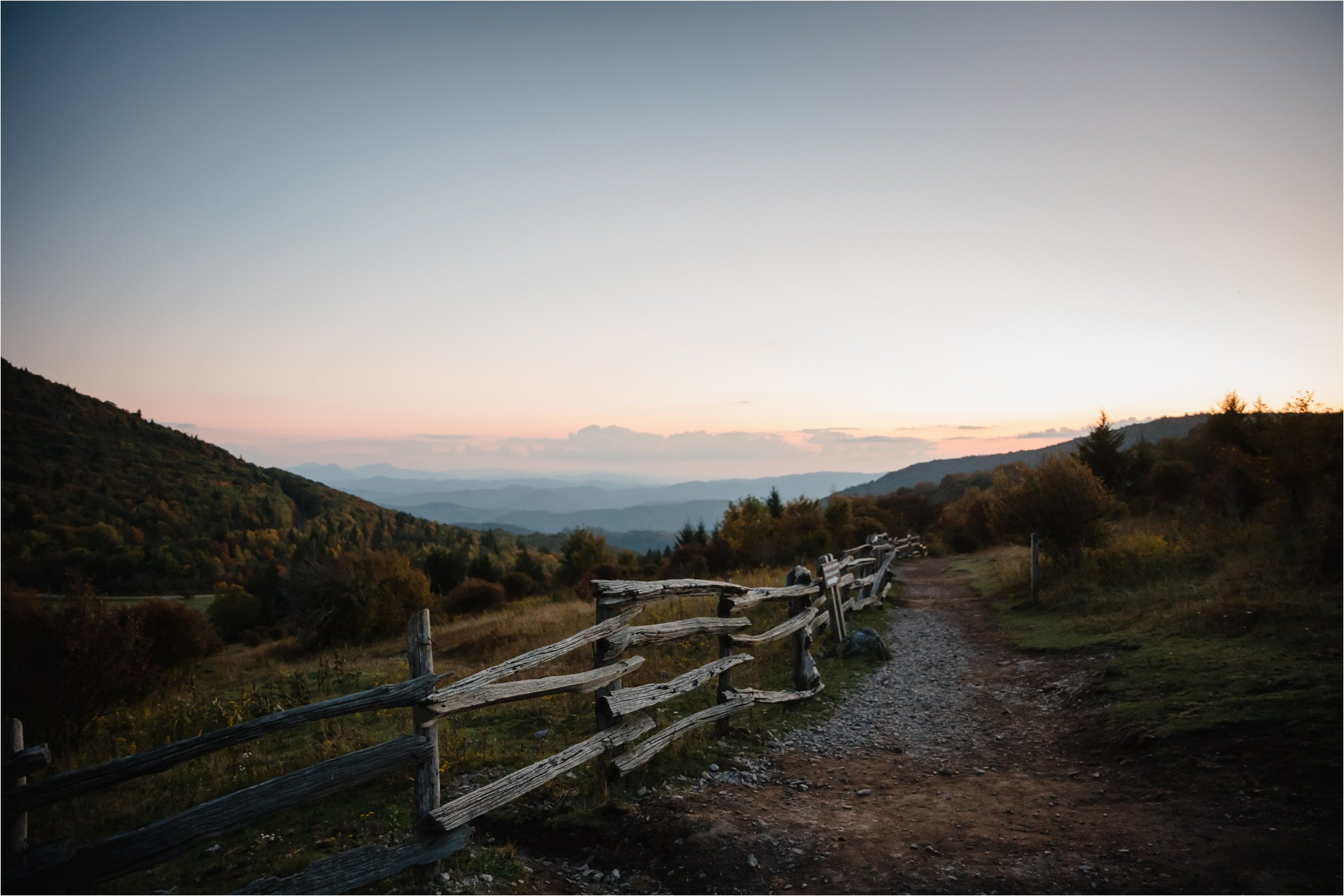 Horizon at Blue Ridge Mountains