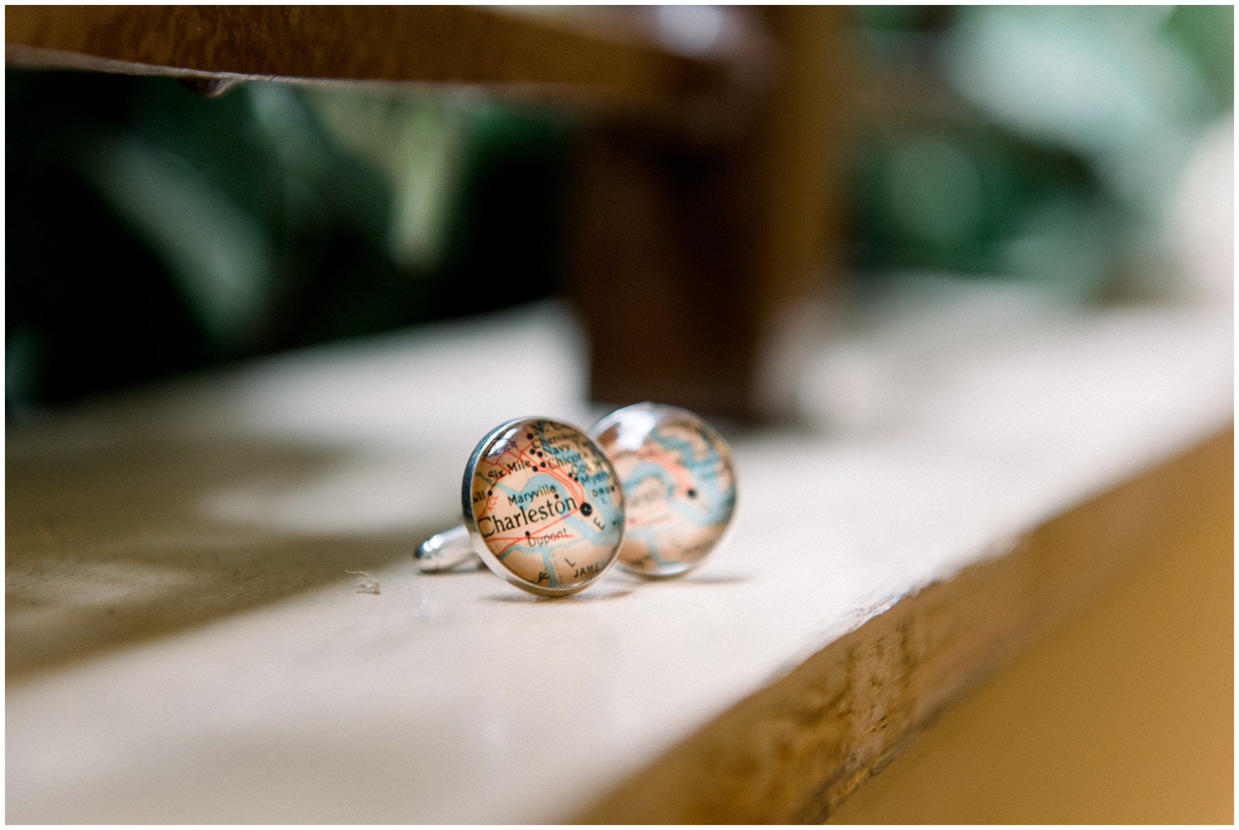 charleston cuff links