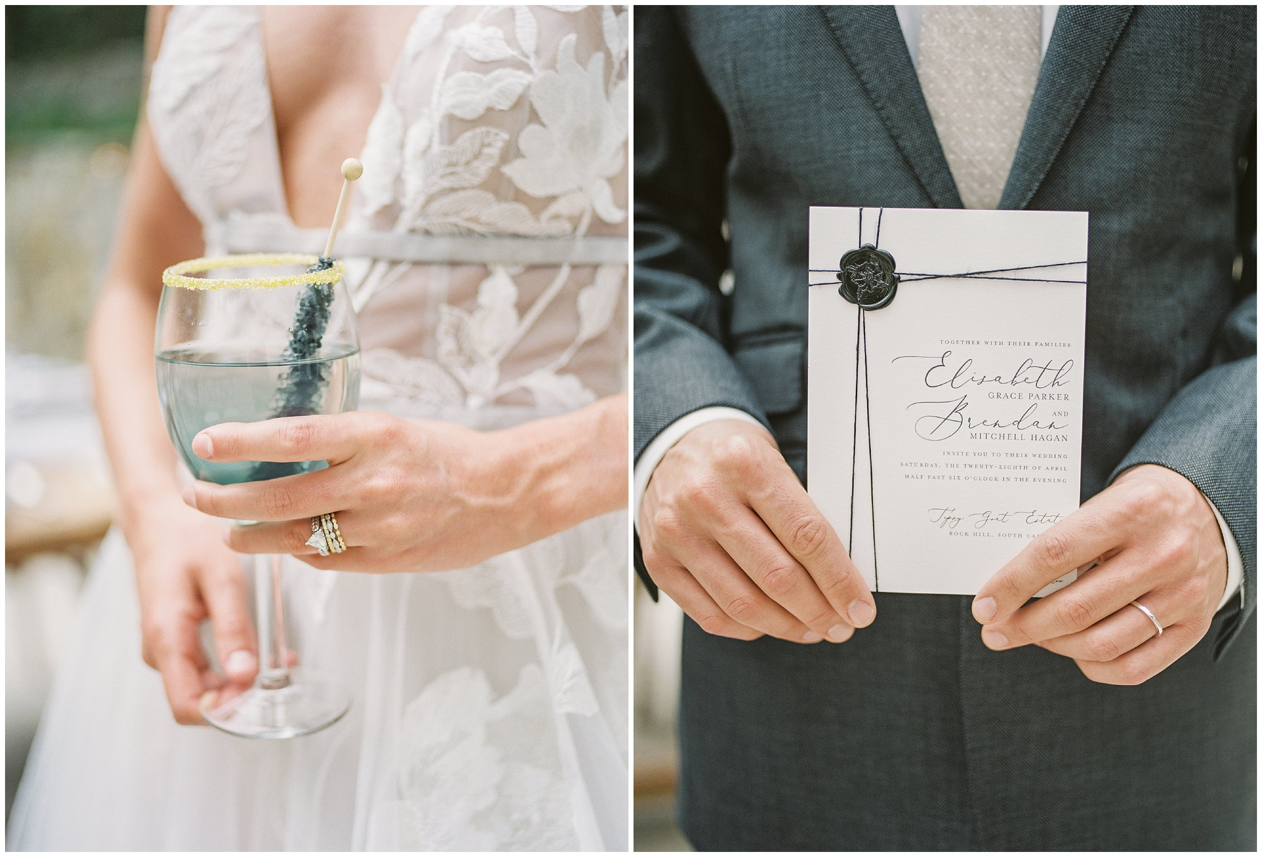 intimate details charlotte wedding