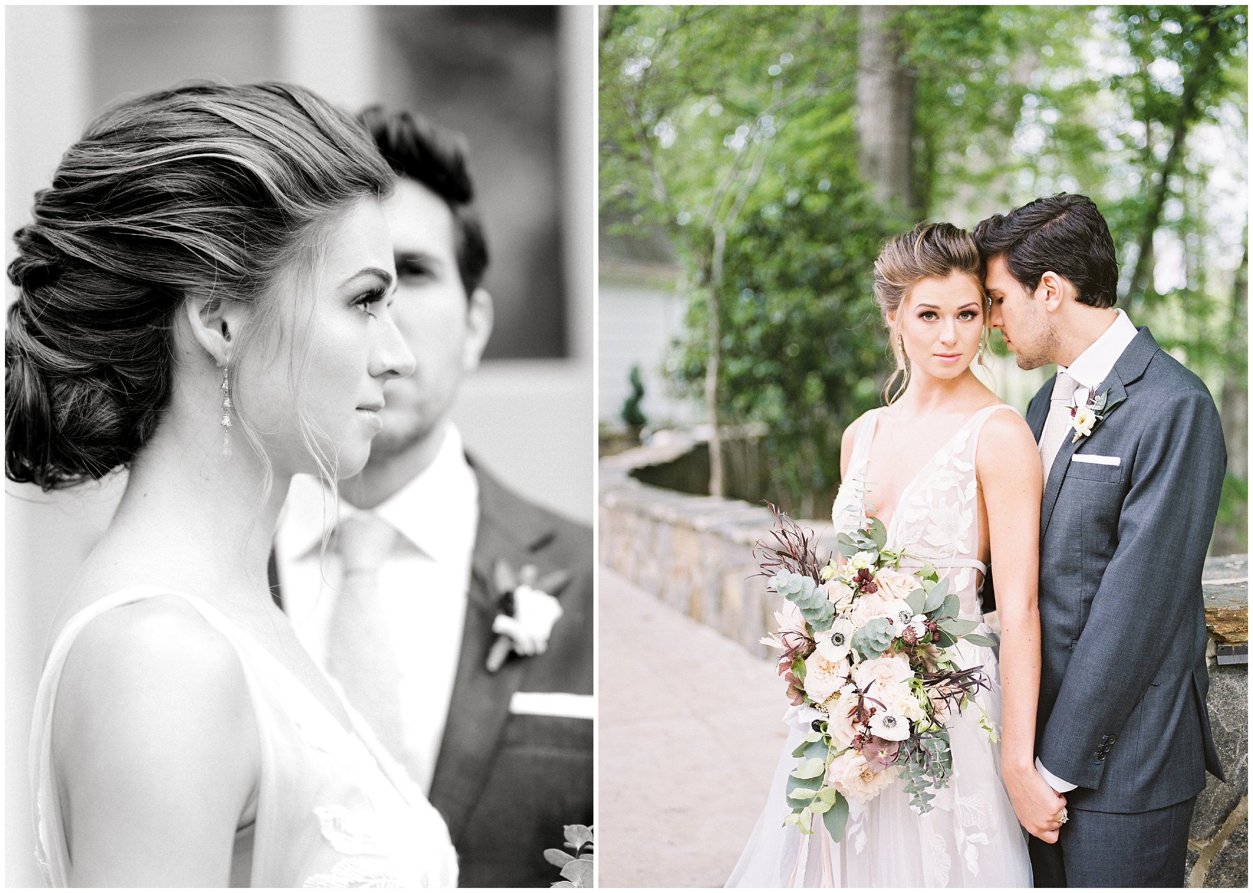newlywed portraits