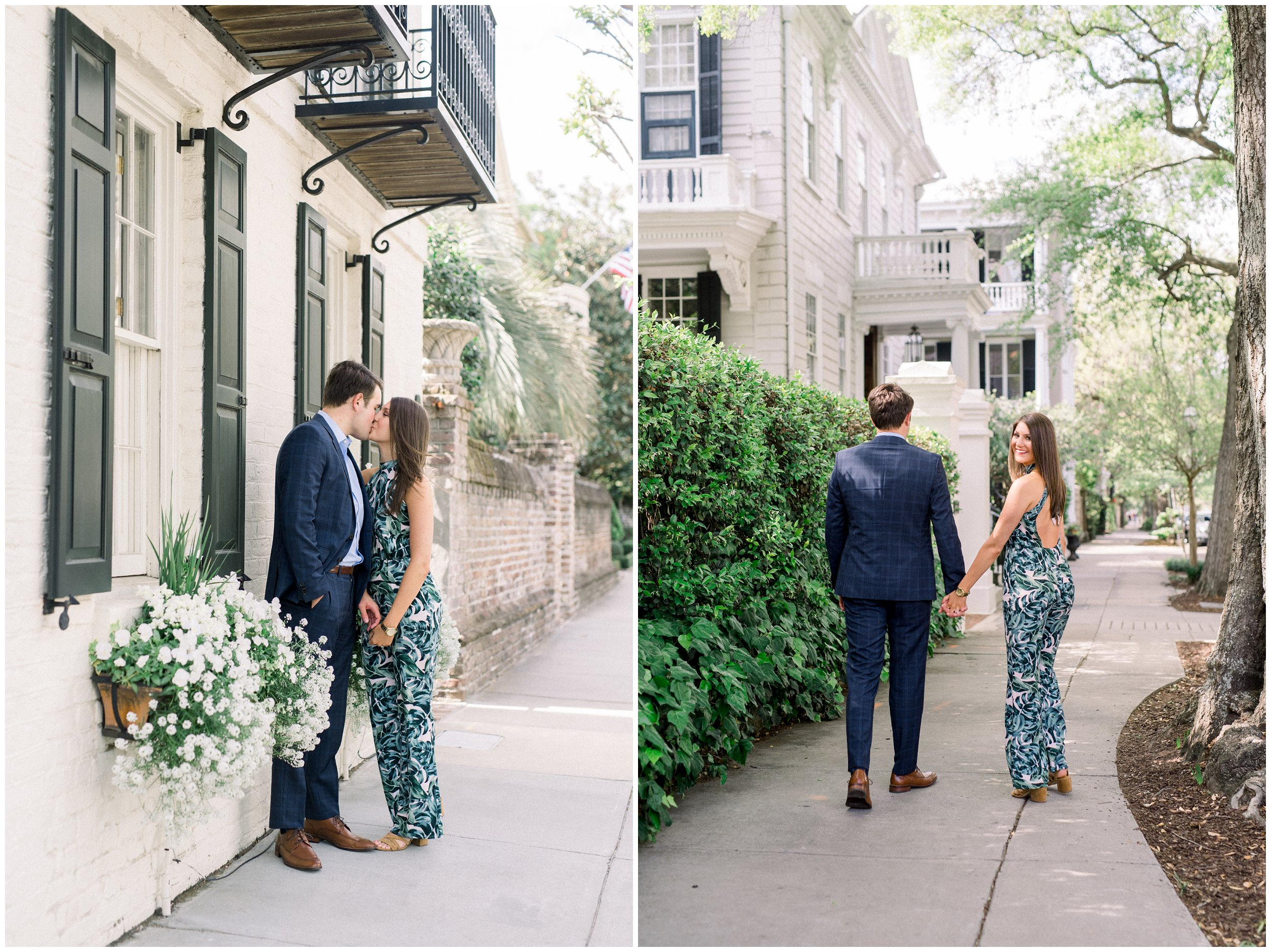 engagement session in charleston