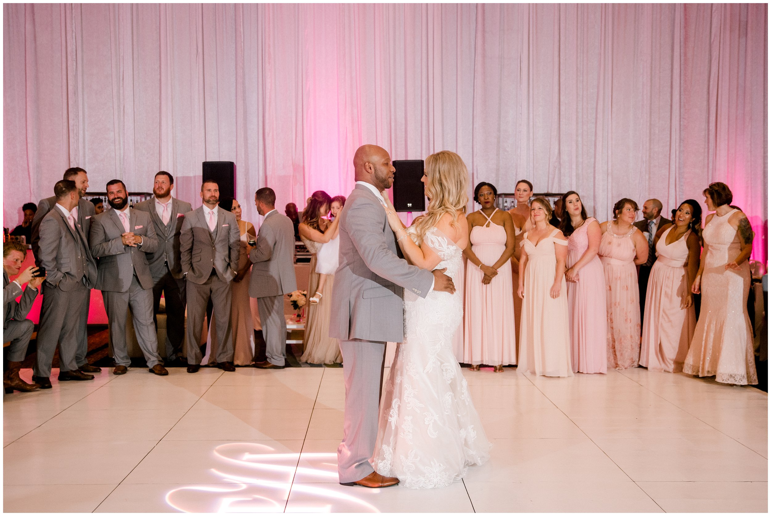 First dance as husband and wife Hyatt Regency Maryland wedding