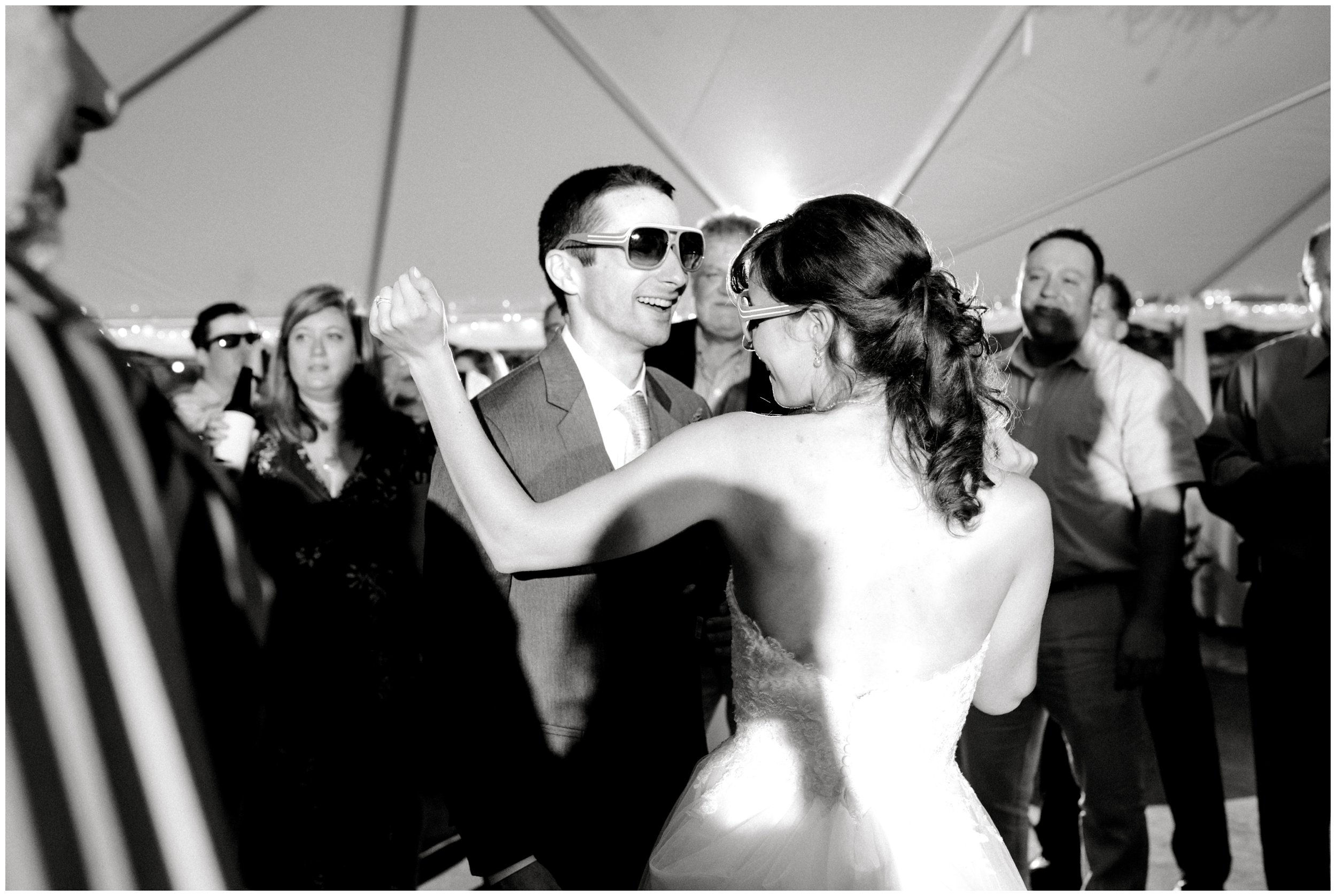 fun charlotte wedding reception
