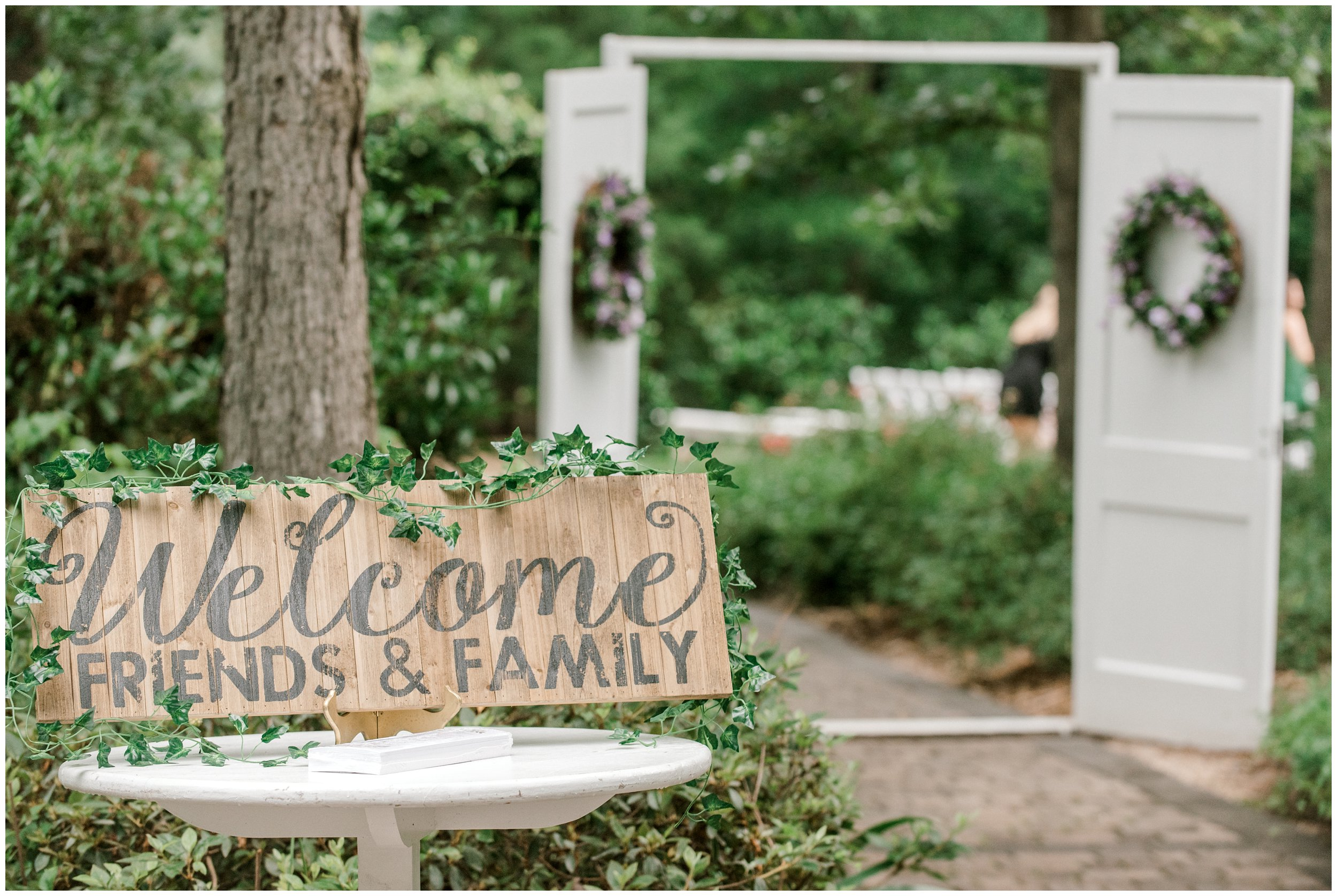 morning glory farm wedding details
