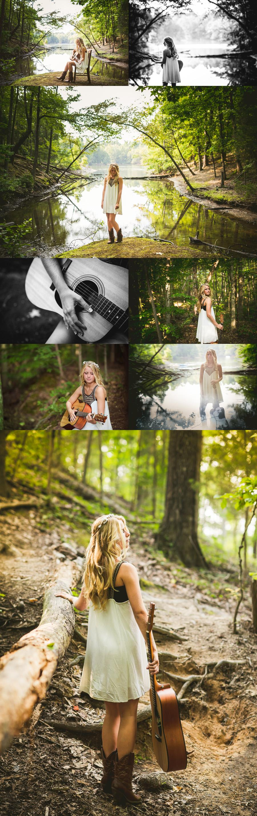 charlotte forest senior pictures