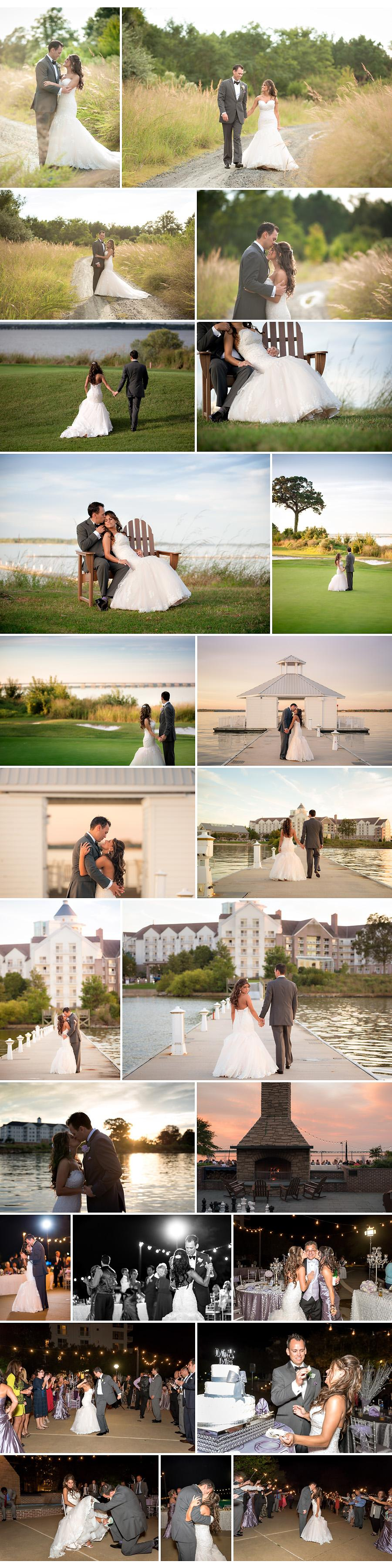 couples portraits on chesapeake bay