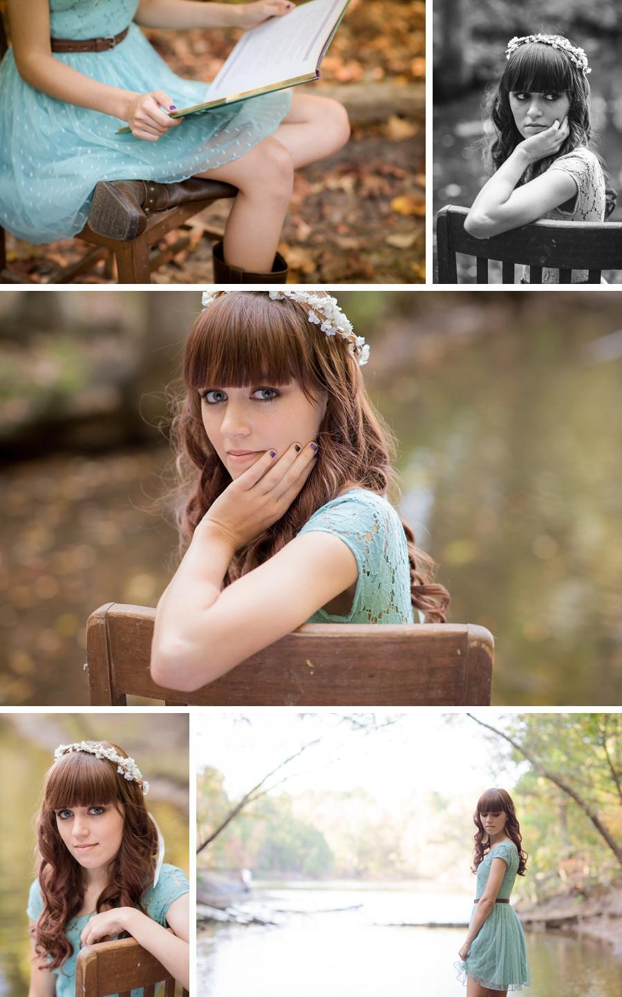 creative senior photography
