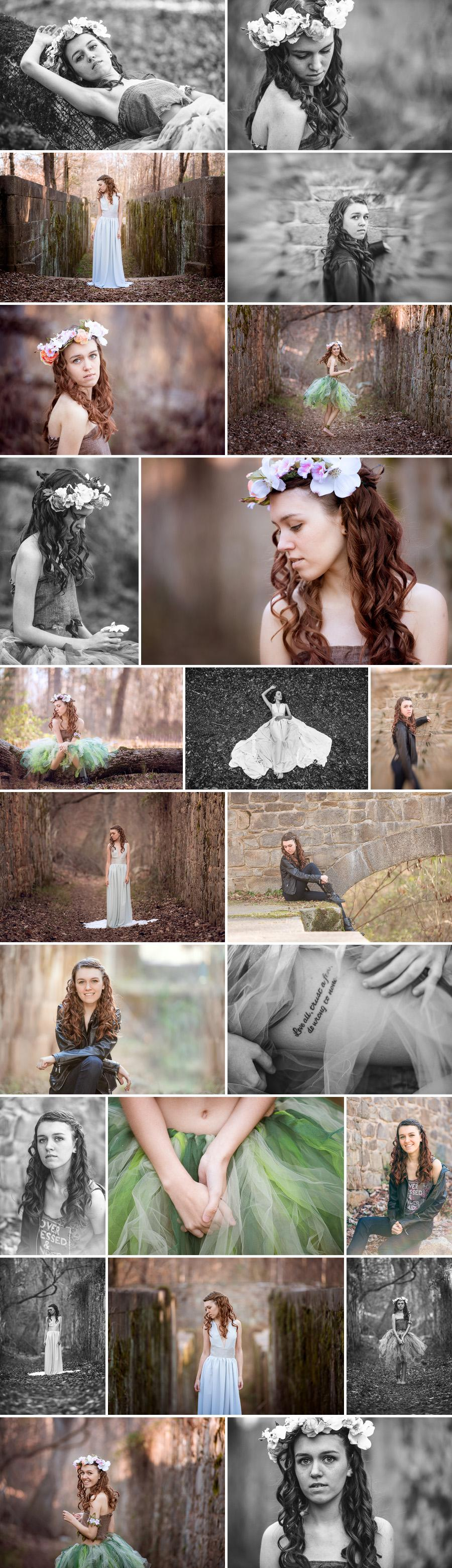 Landsford Canal state park senior photos