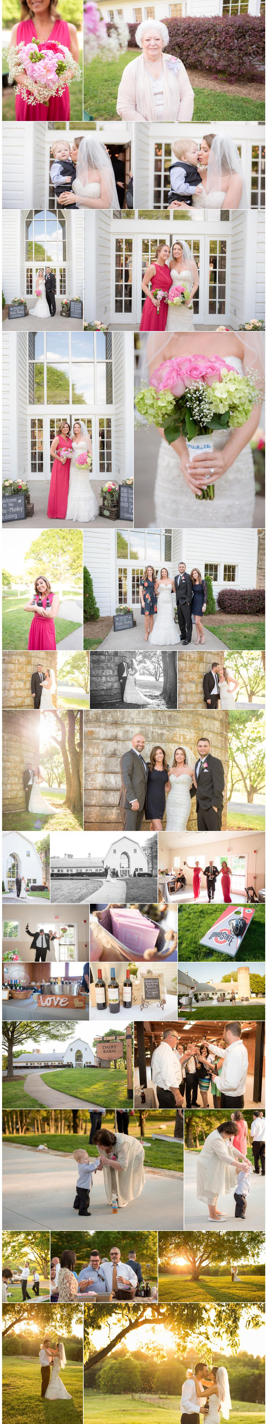 wedding at fort mill dairy barn