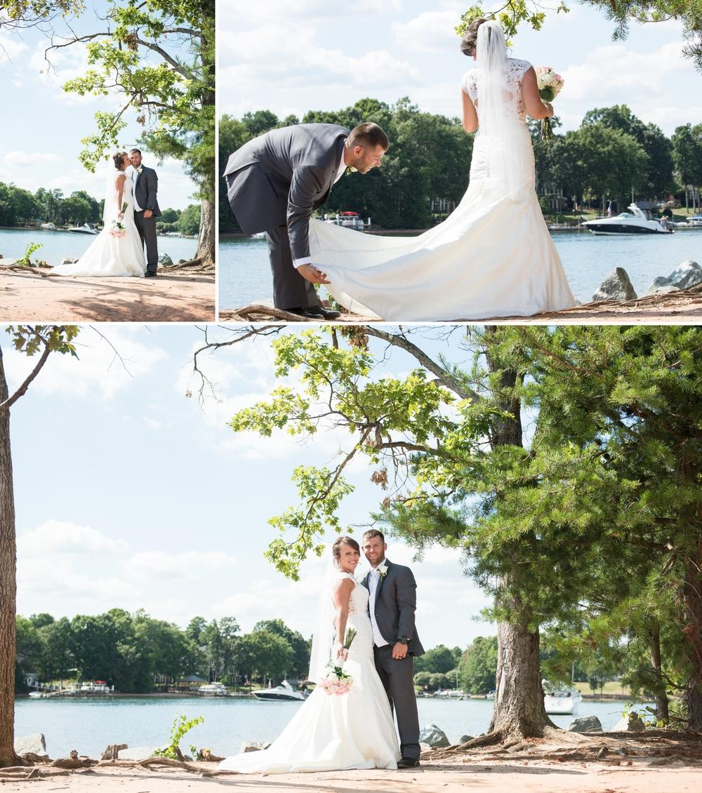 mooresville lake norman wedding pictures 37 1 -