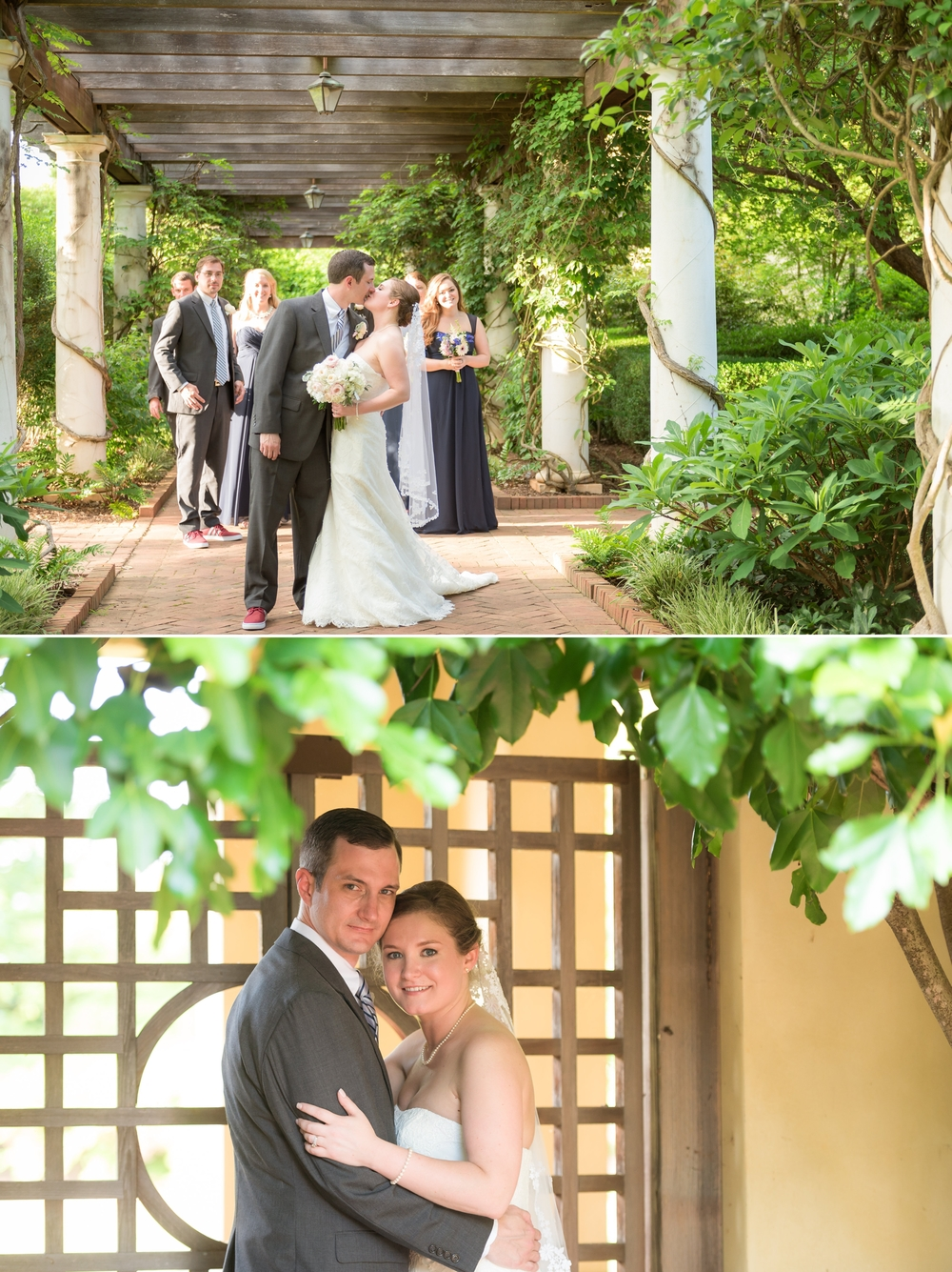 wedding daniel stowe botanical garden 26 -
