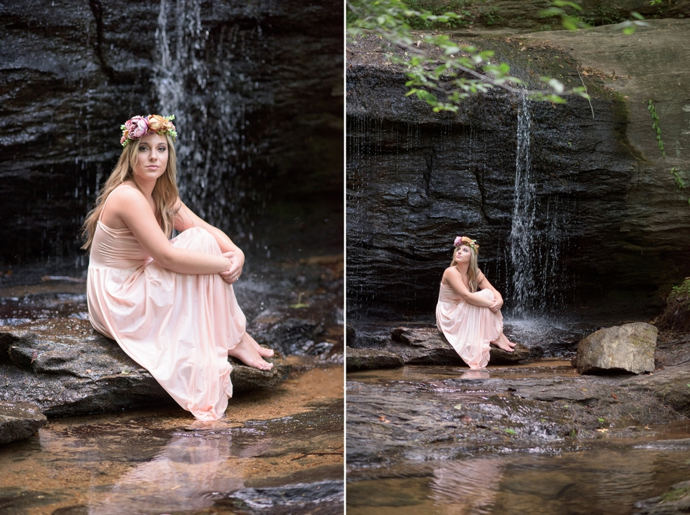 outdoor waterfall boudoir 12 -