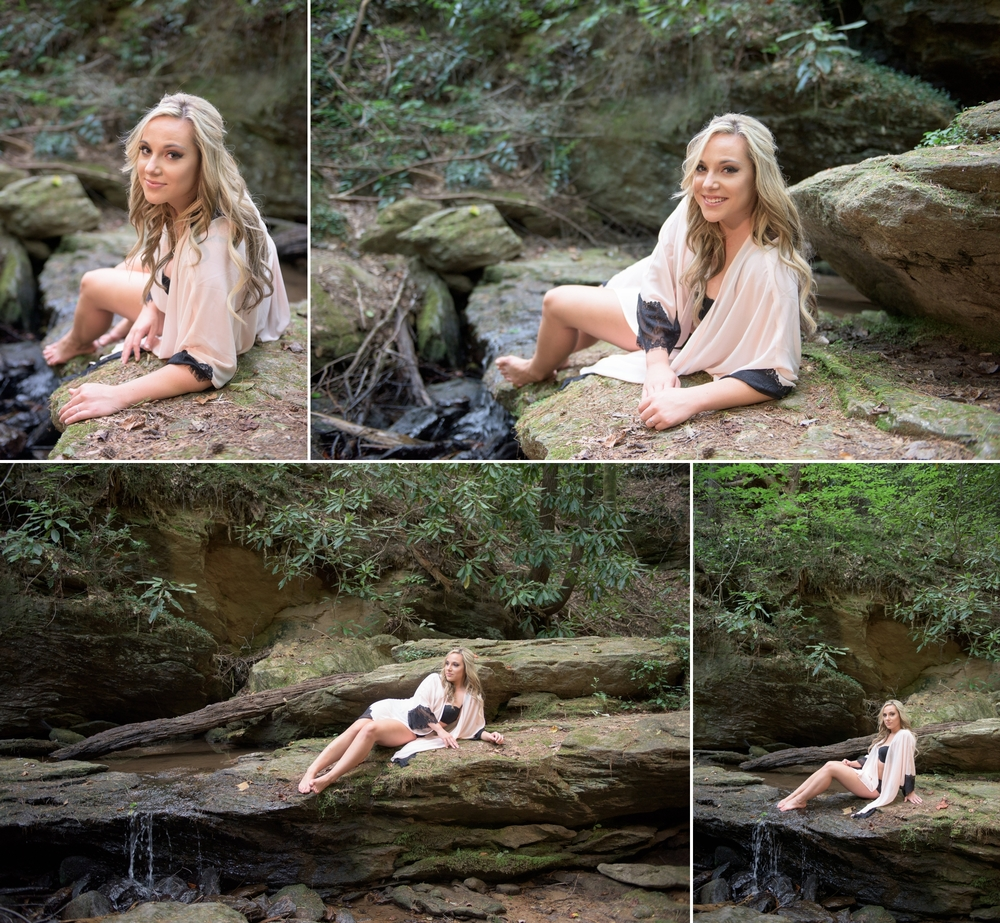 outdoor waterfall boudoir 2 -