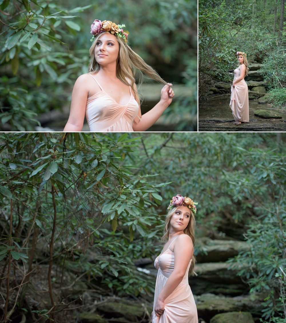 outdoor waterfall boudoir 5 -