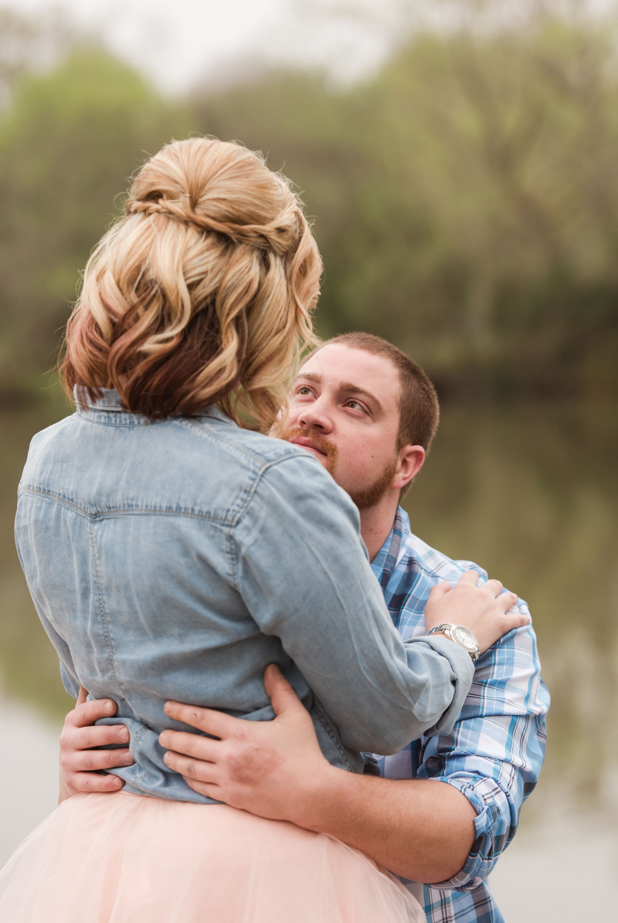 intimate charlotte engagement session