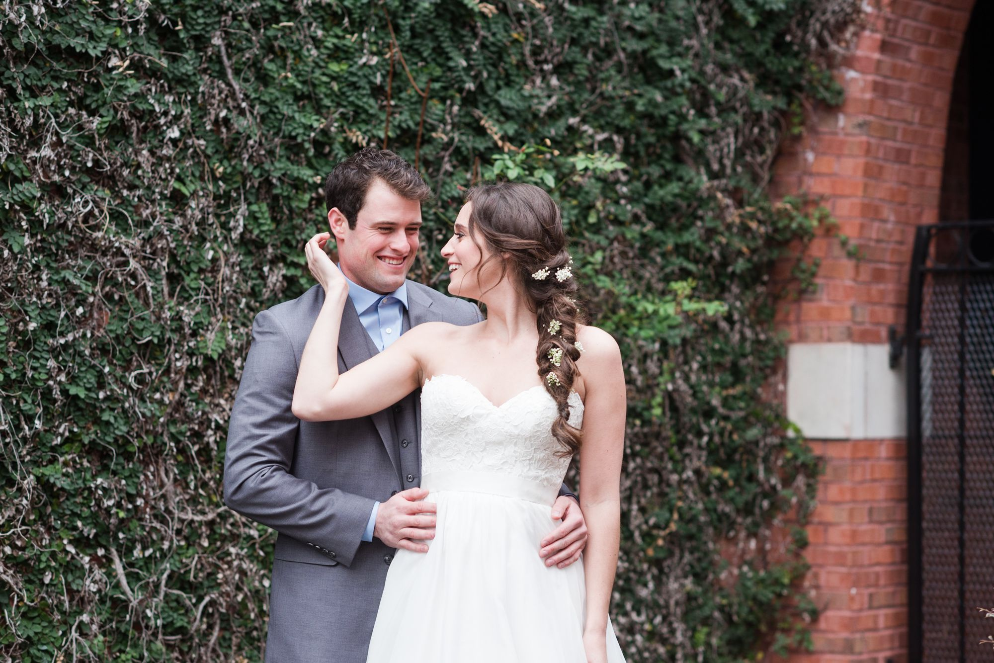 uptown charlotte wedding pictures