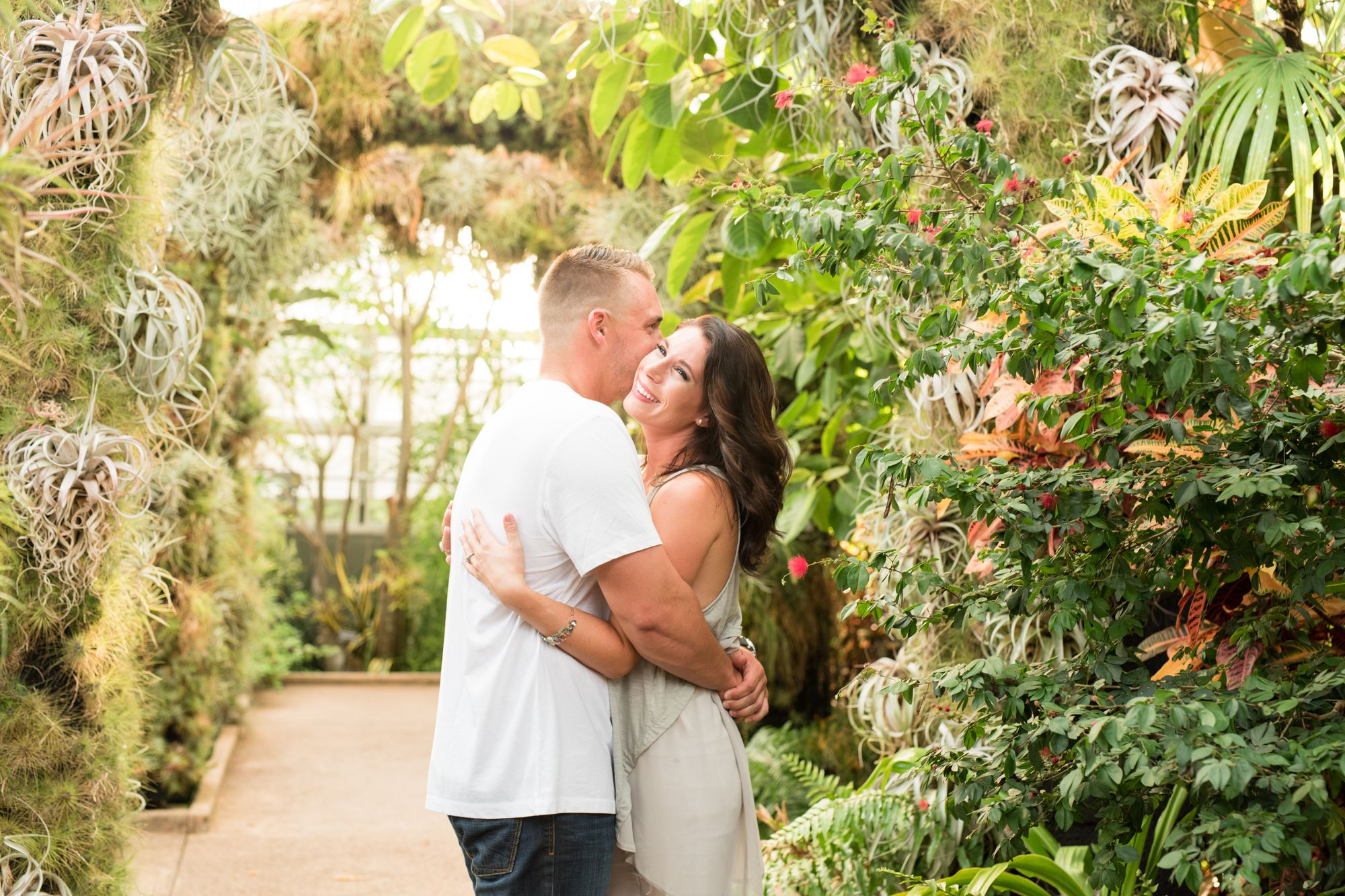 daniel stowe botanical gardens engagement session charlotte