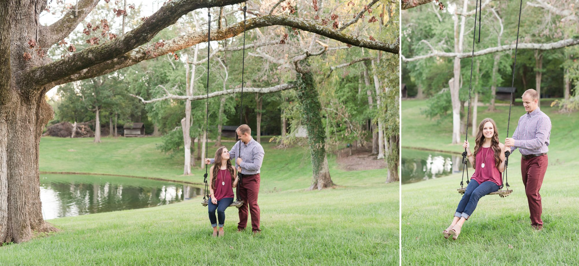Boxwood Estate engagement session