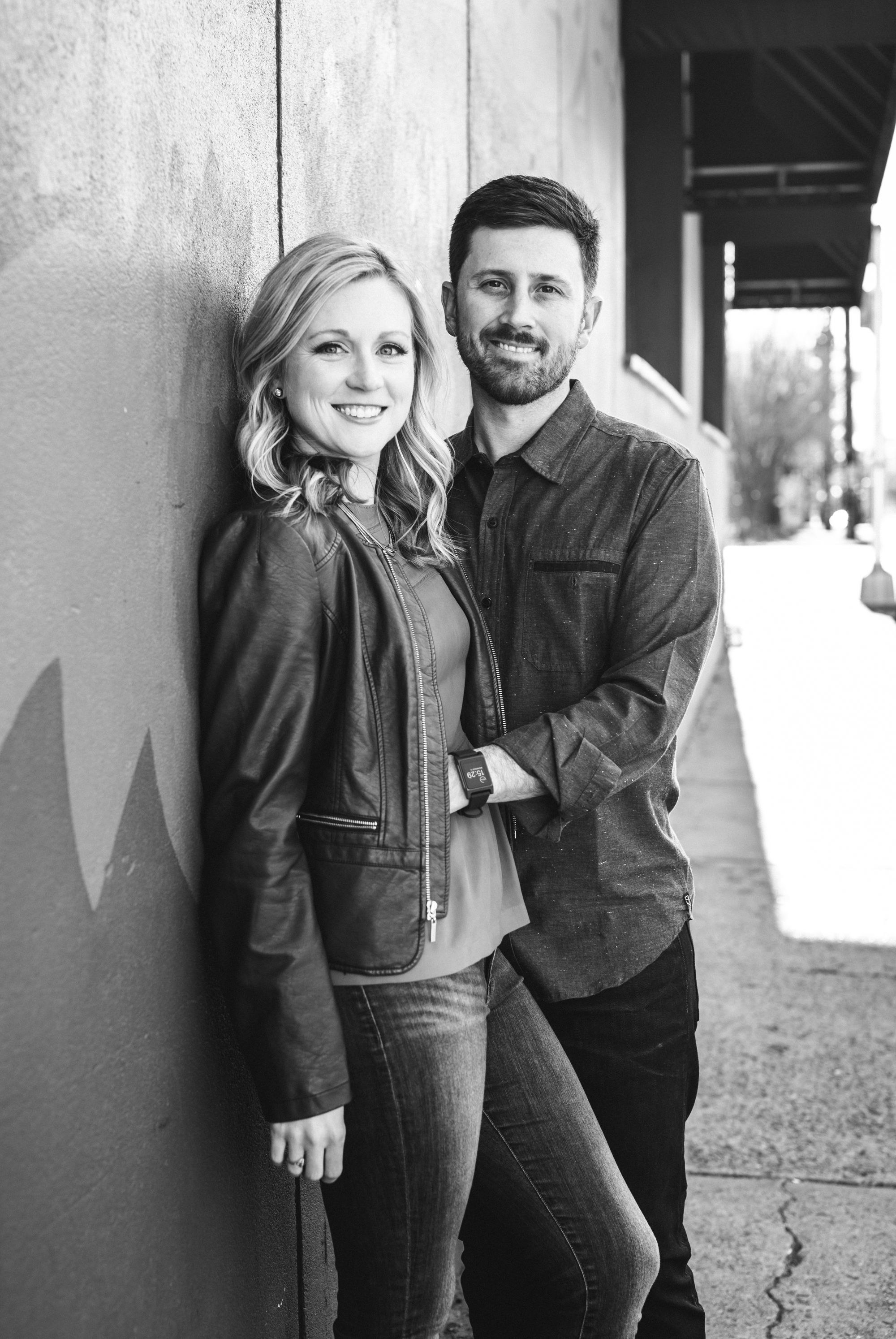 charlotte engagement session