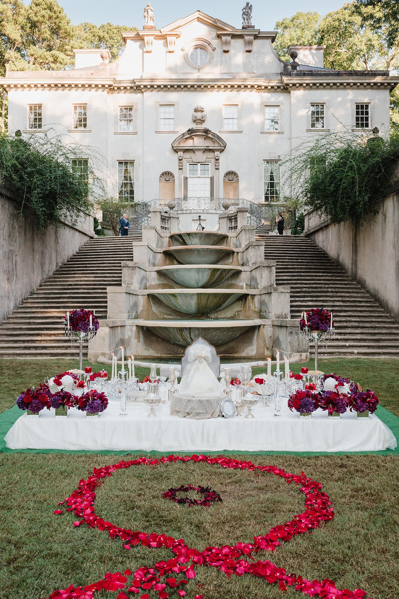 swan house dream destination wedding