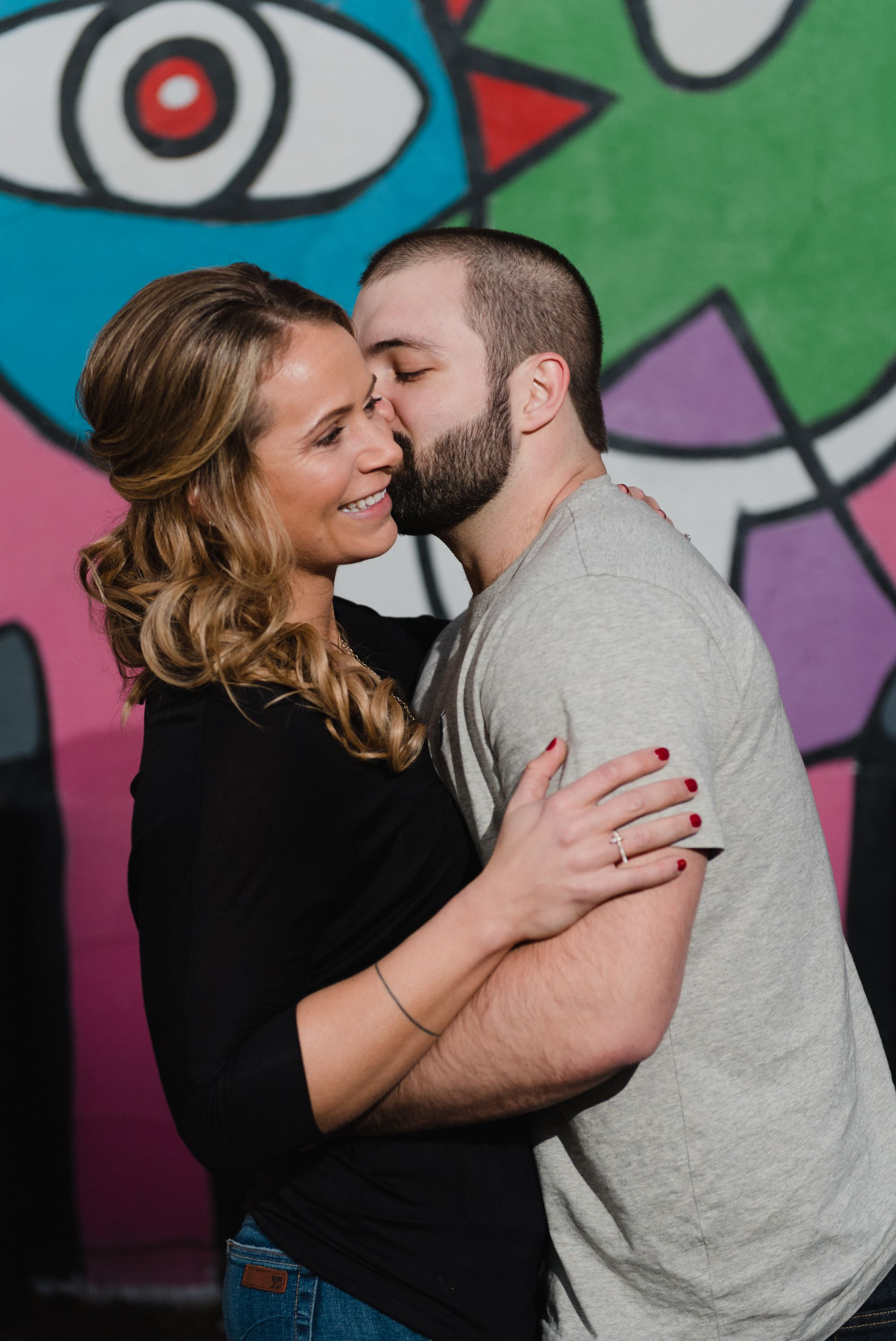 uptown charlotte engagement pictures 11 -