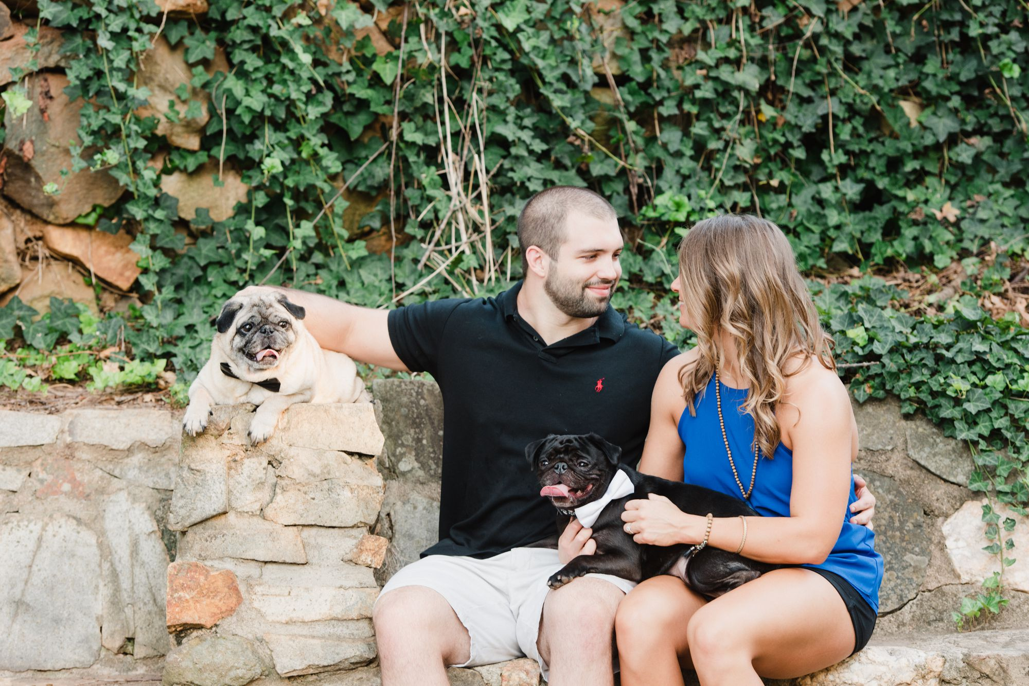 uptown charlotte engagement pictures 3 -