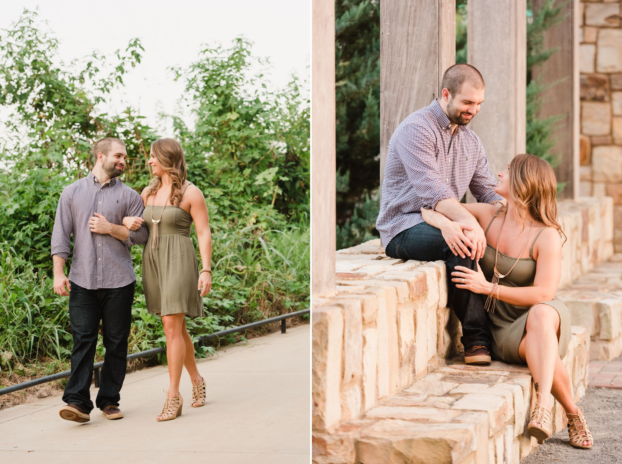 uptown charlotte engagement pictures 6 -