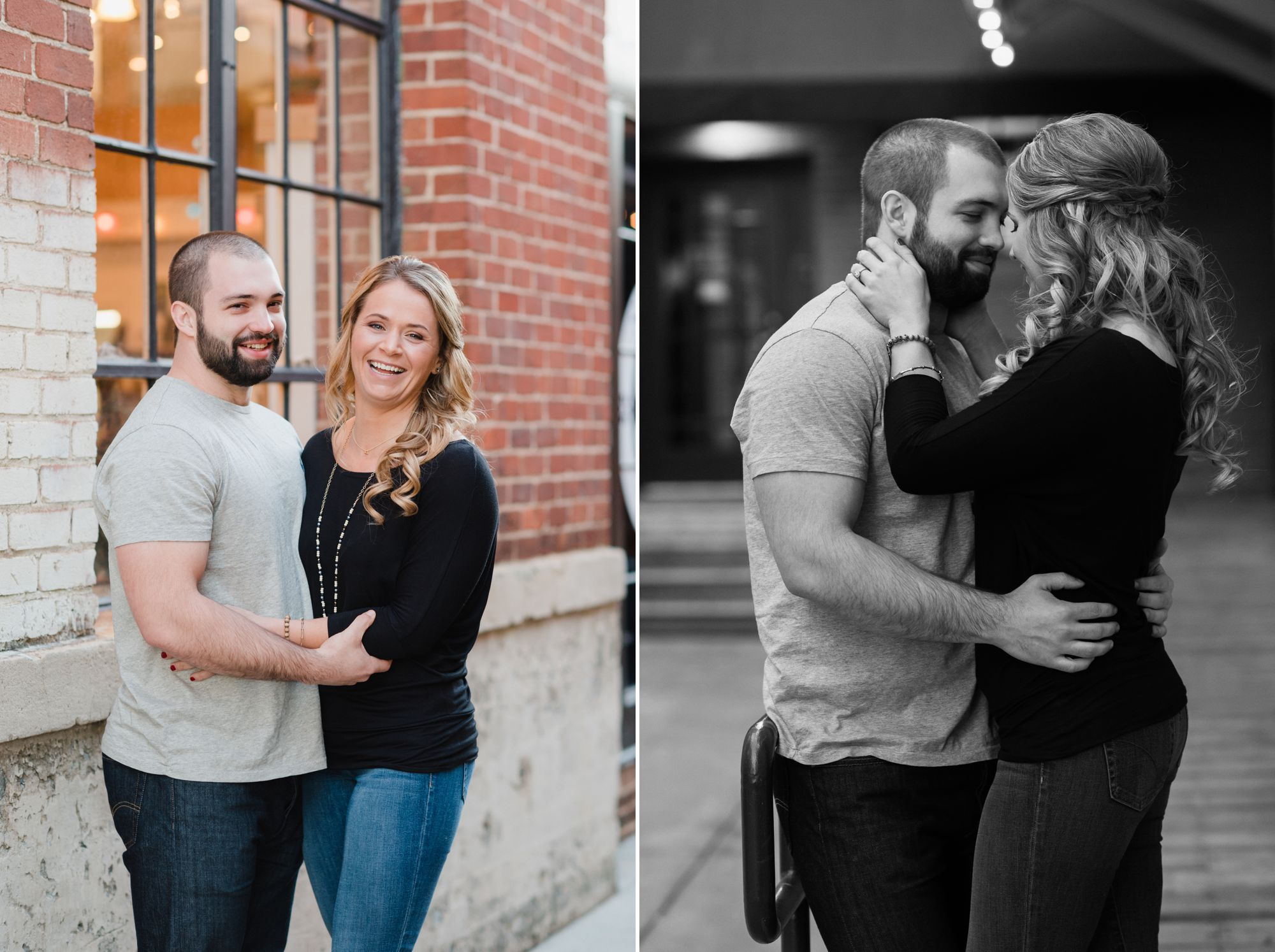 uptown charlotte engagement pictures 8 -
