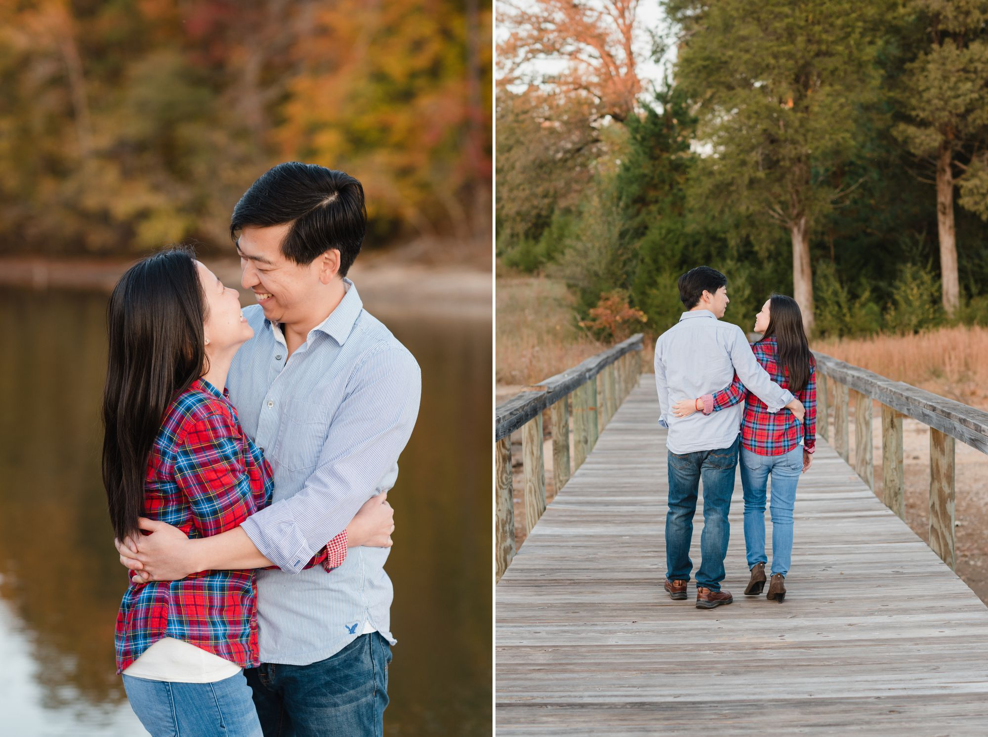 glencairn garden engagement session