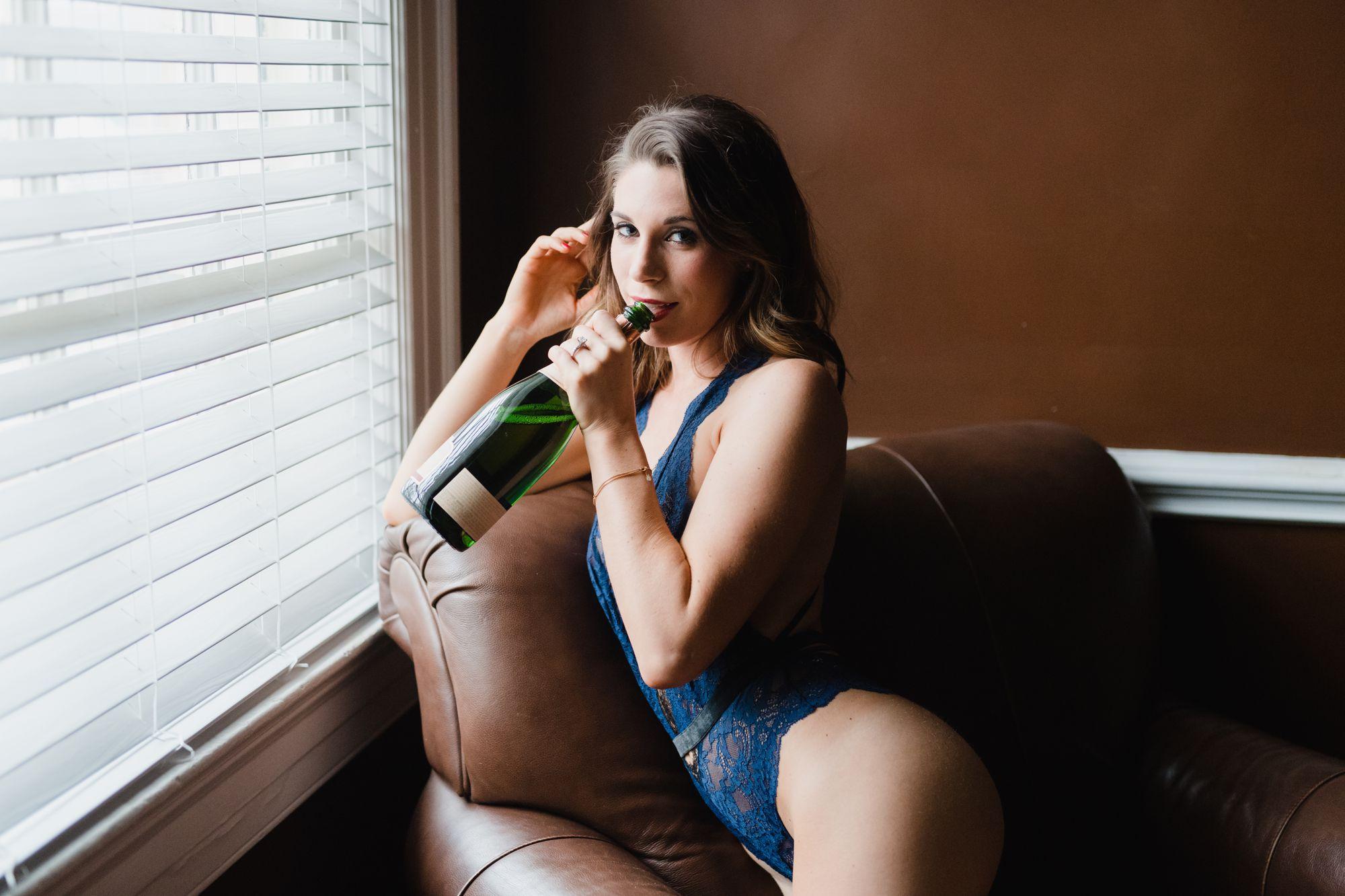 charlotte bridal boudoir