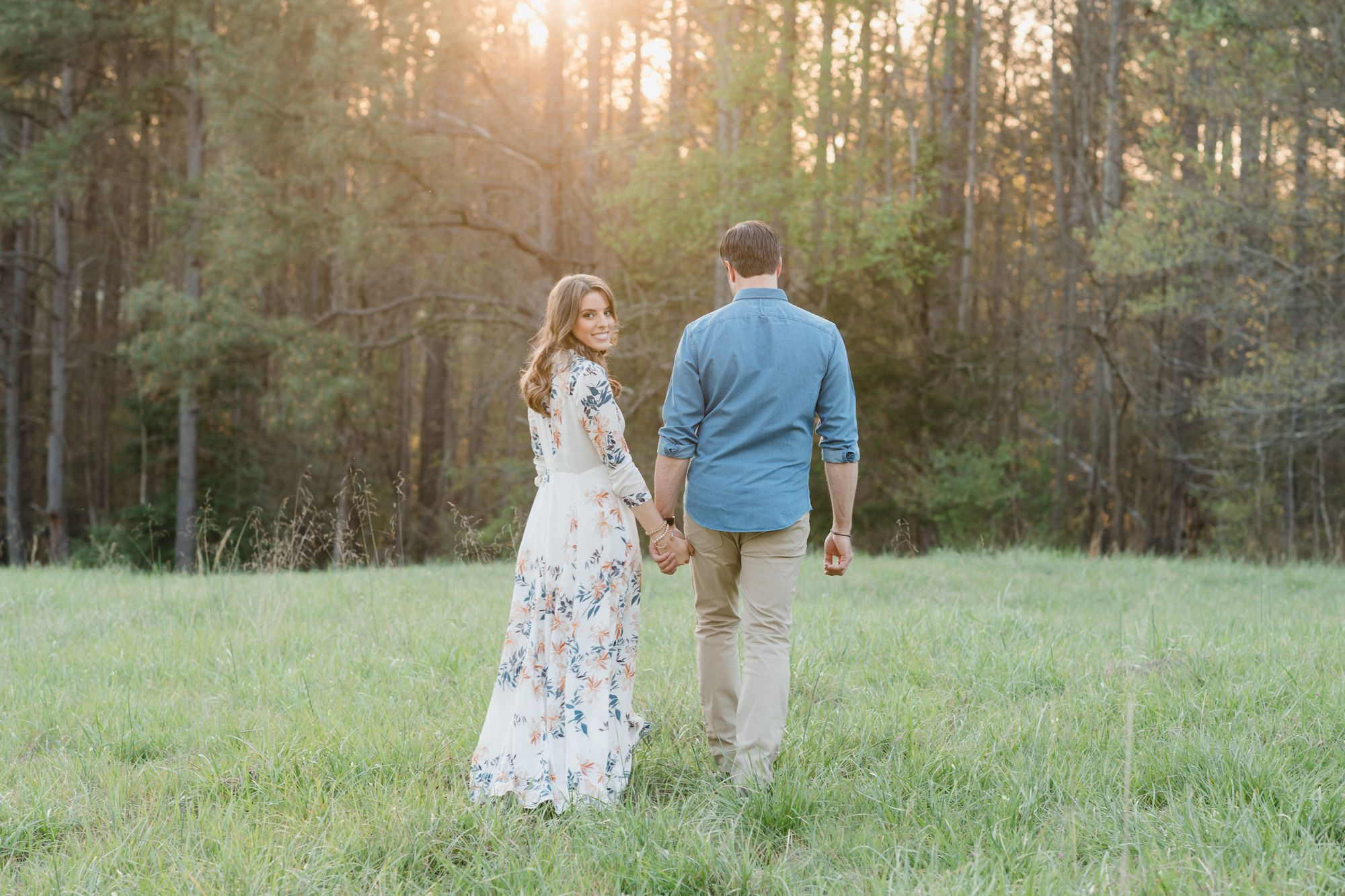 Ivy Place engagement photos