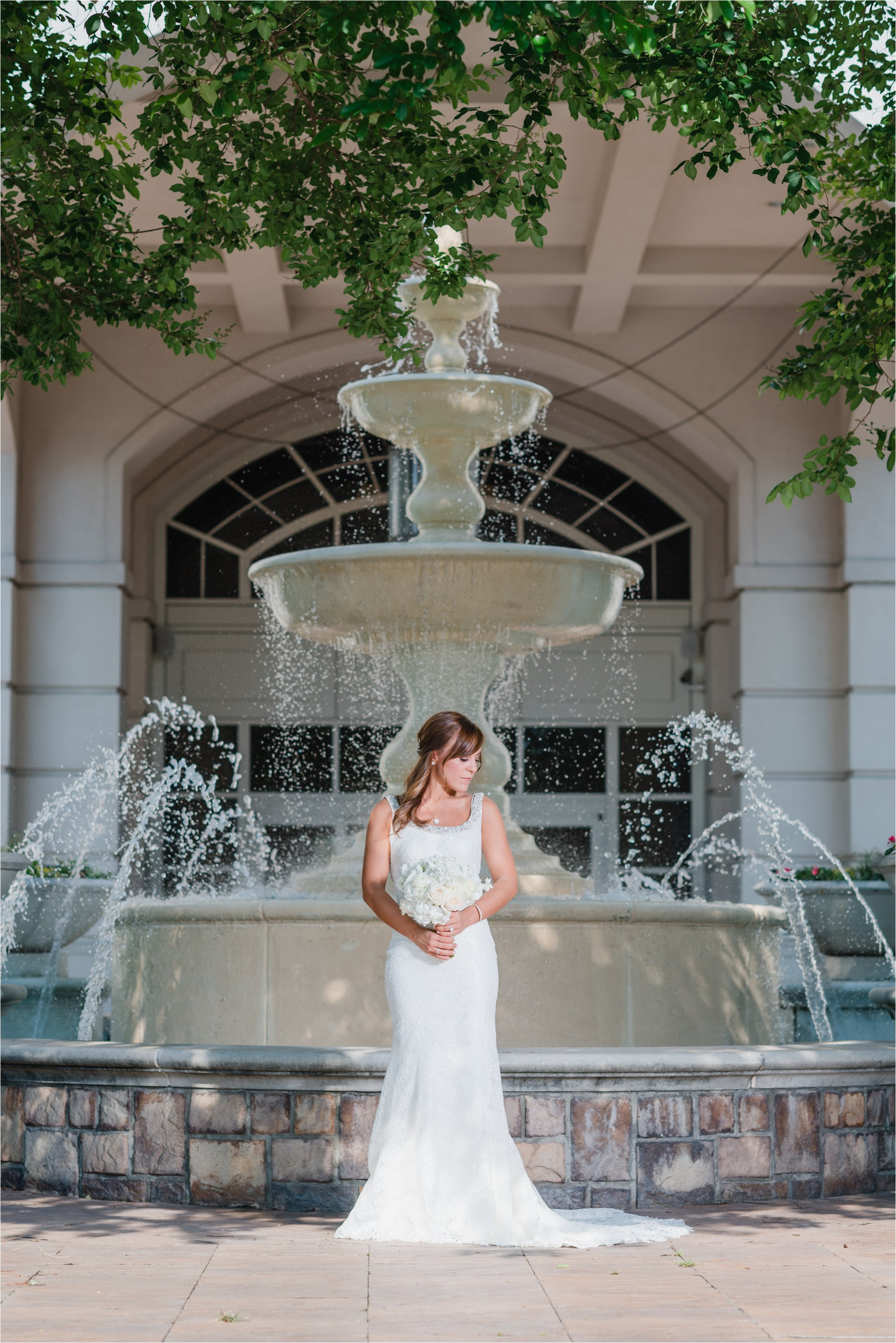 Bride at The Ballantyne Hotel
