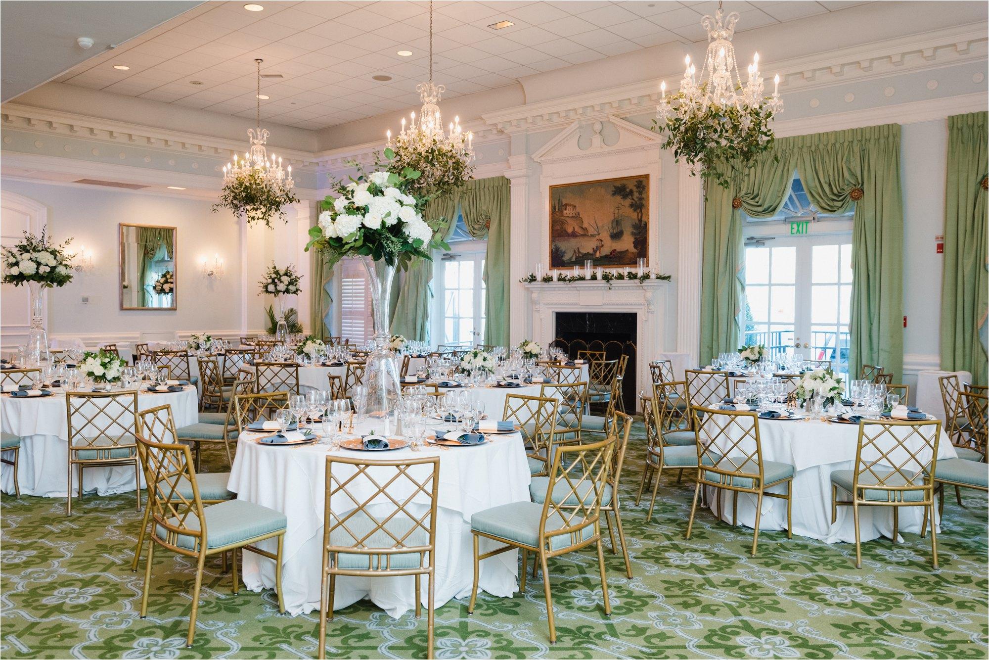 ballroom at greensboro country club