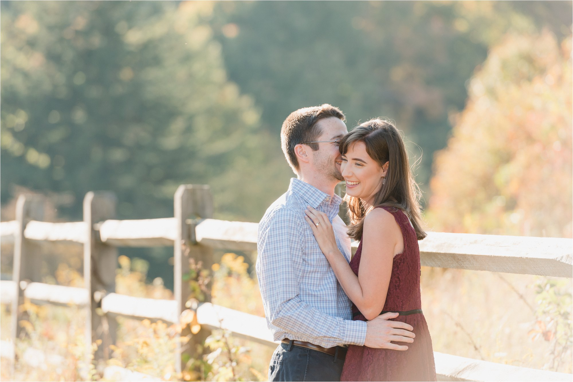 Engagement Session at Blue Ridge Mountains