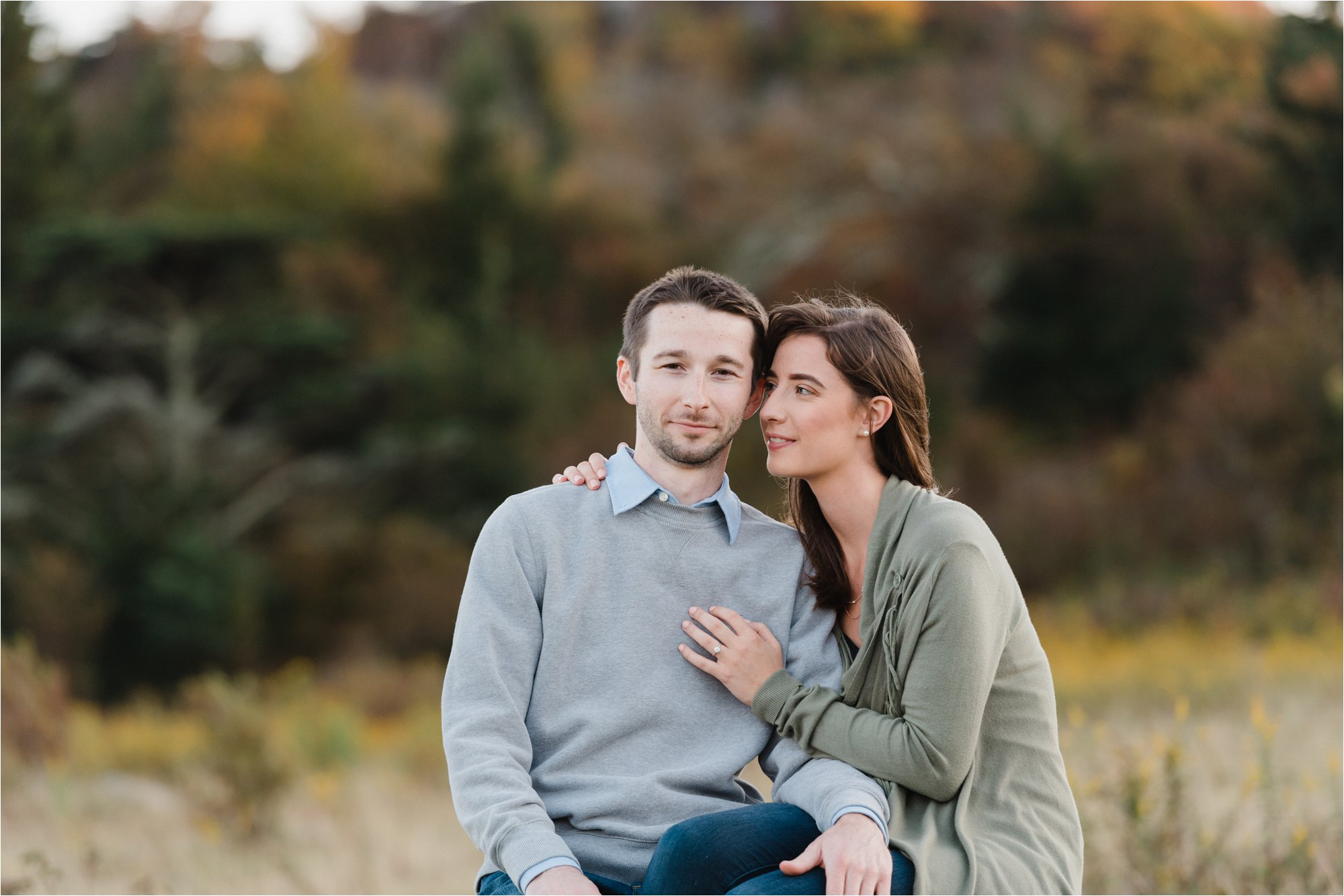 Engagement Session at Virginia Blue Ridge Mountain