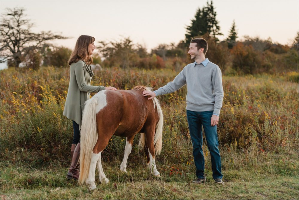 Katie & Nate's Engagement Session At The Blue Ridge Mountains