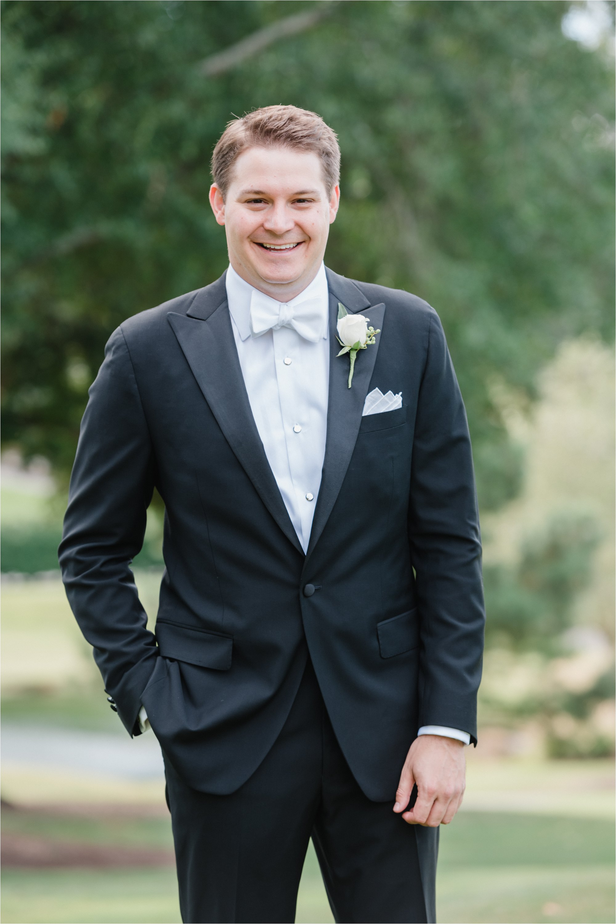 Groom at Greensboro Country Club