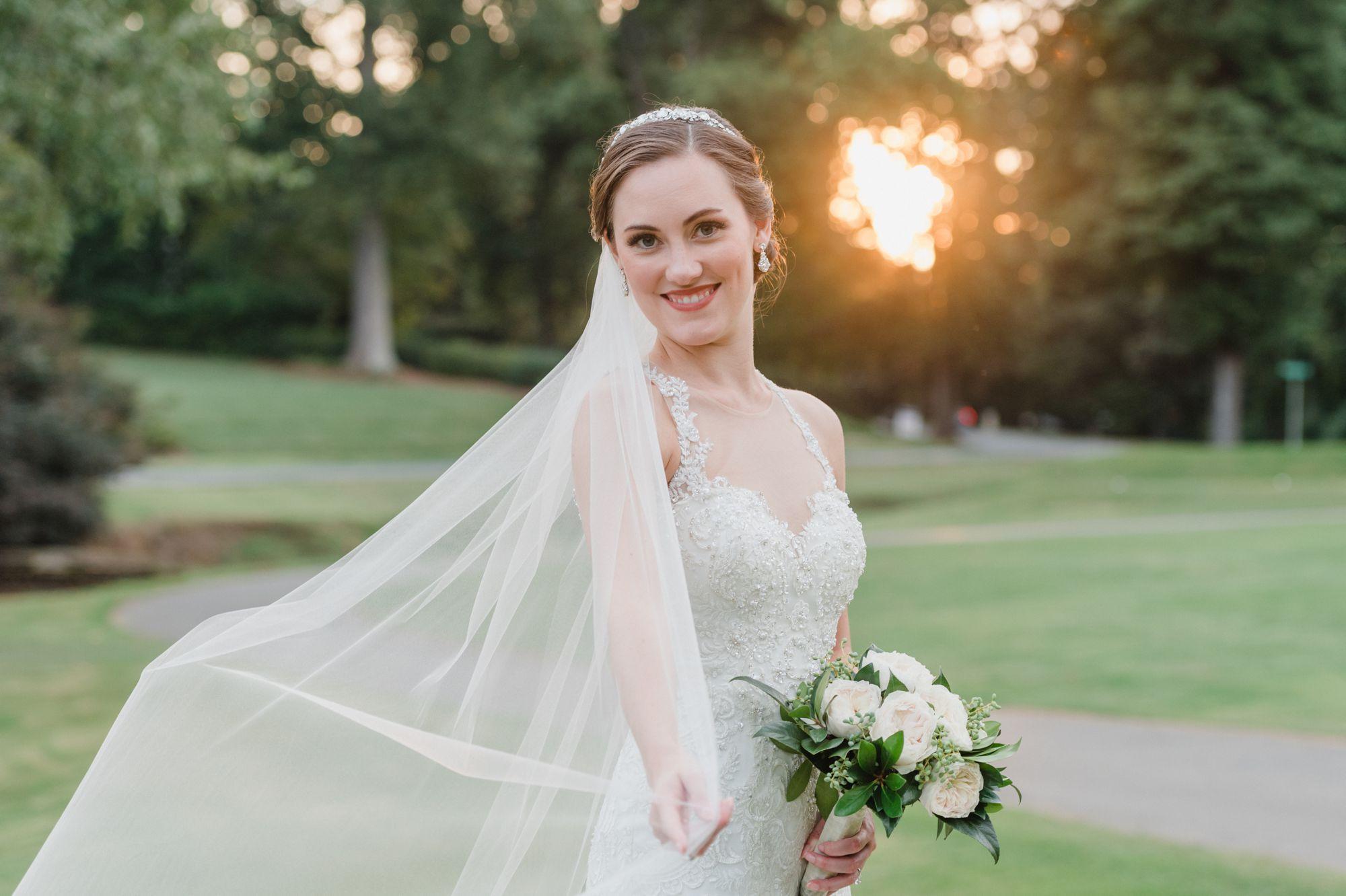 classic bridal portraits