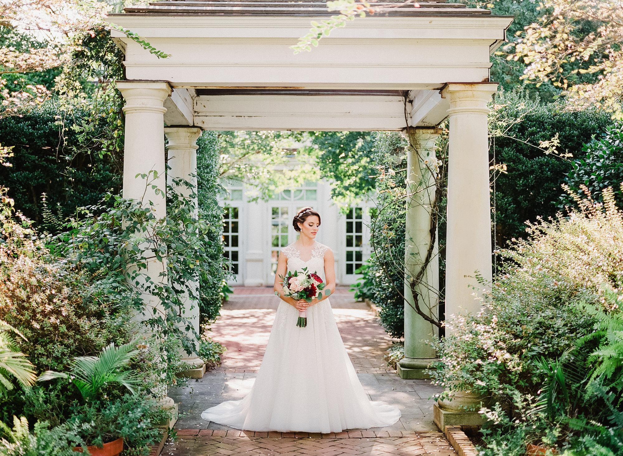 Daniel Stowe Botanical Gardens Bridals 1871 -