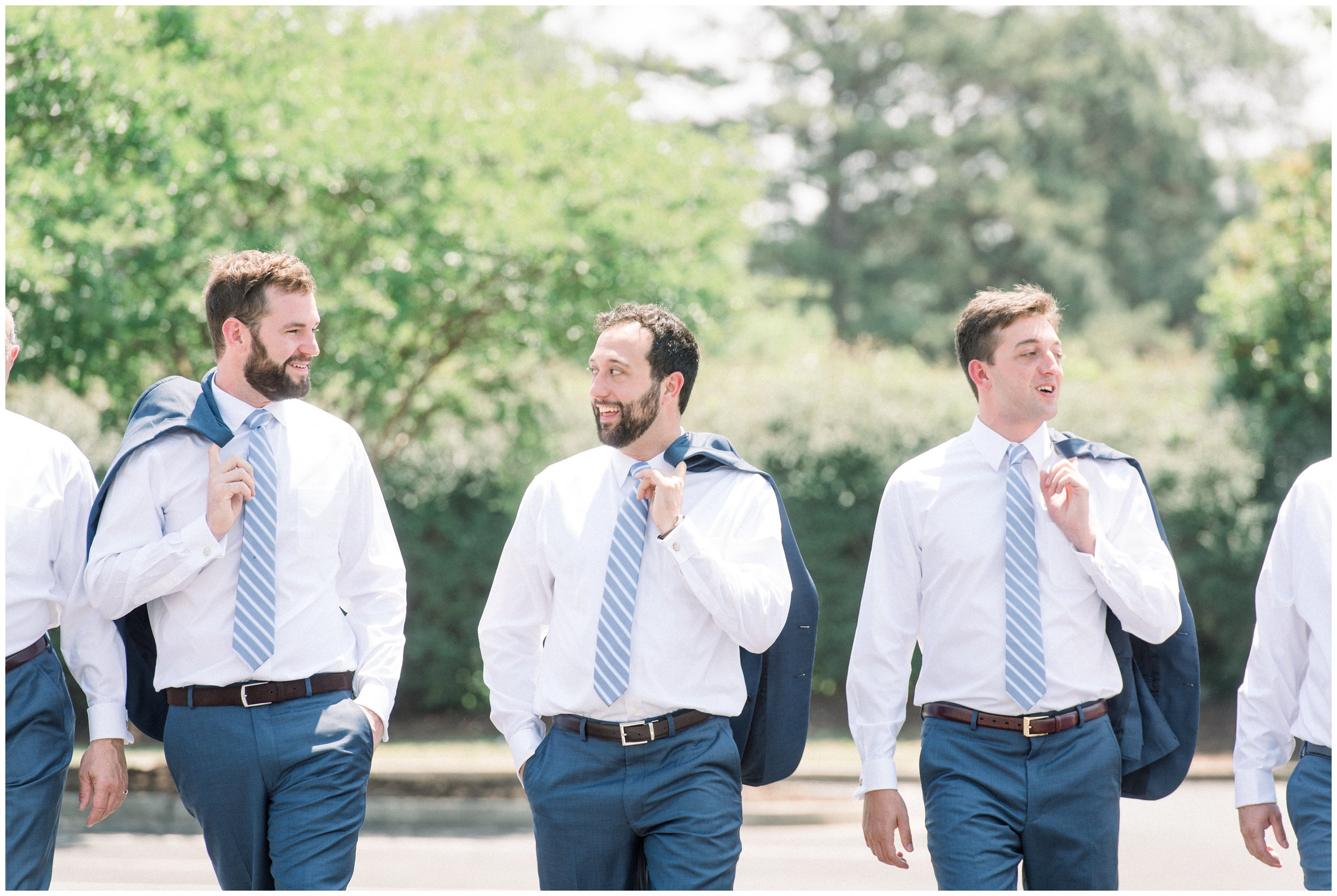 casual groomsmen photo